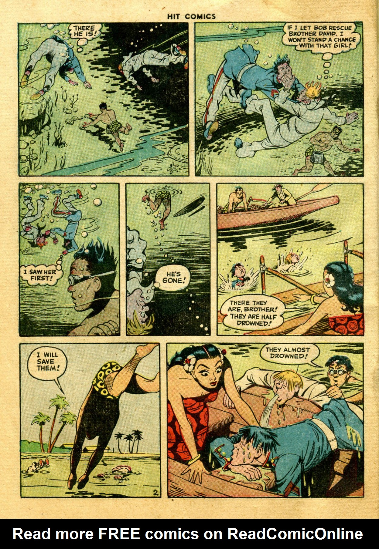 Read online Hit Comics comic -  Issue #44 - 46