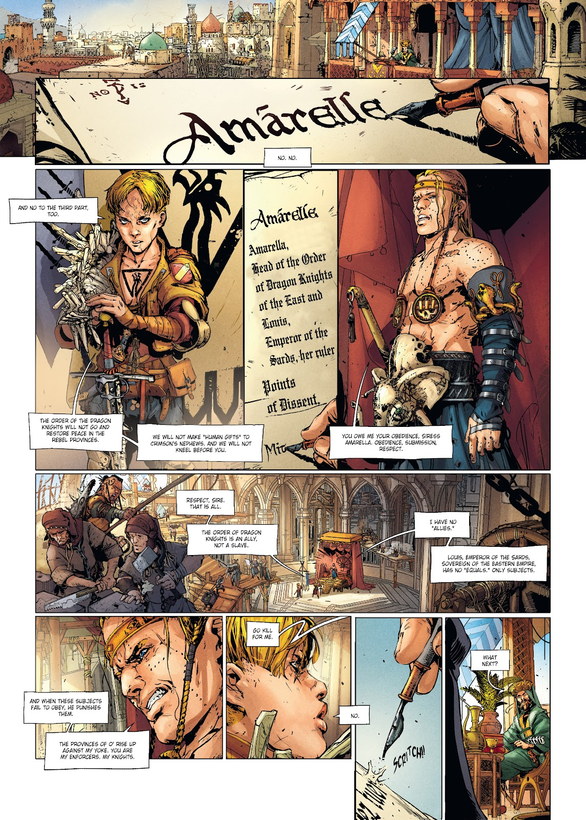 Read online Chronicles of the Dragon Knights comic -  Issue #20 - 9