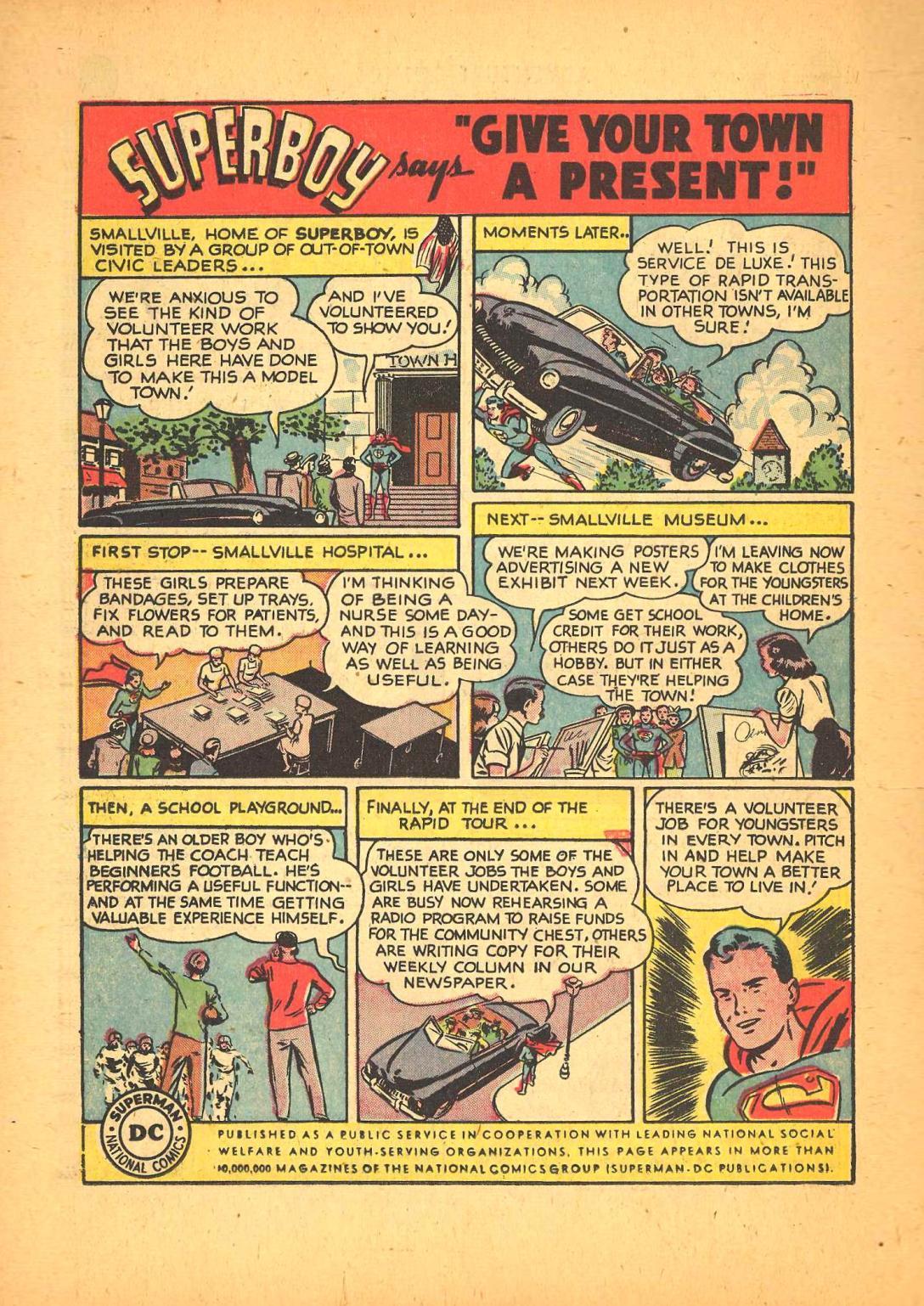 Read online Adventure Comics (1938) comic -  Issue #148 - 38