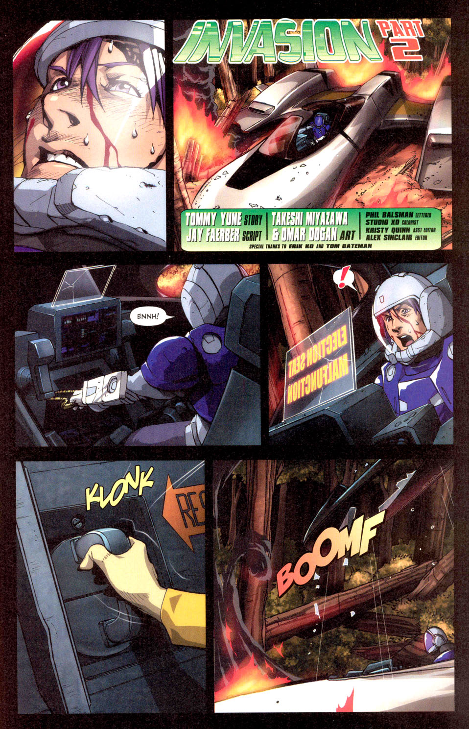 Read online Robotech: Invasion comic -  Issue #2 - 2