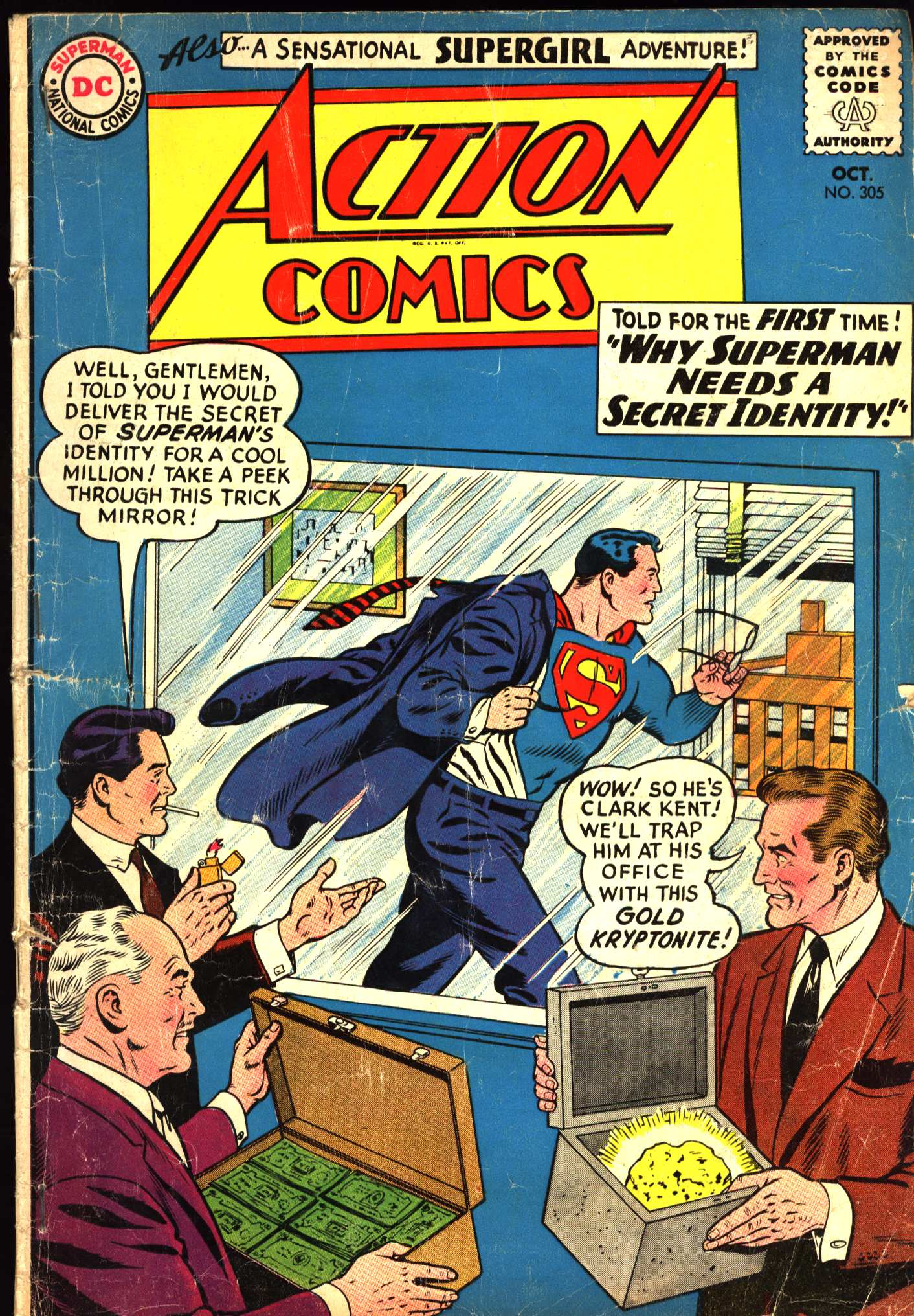 Read online Action Comics (1938) comic -  Issue #305 - 1