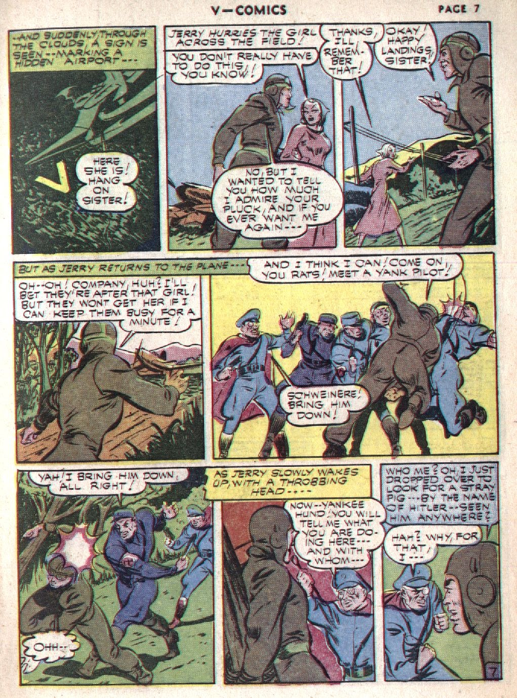 Read online V...- Comics comic -  Issue #1 - 9