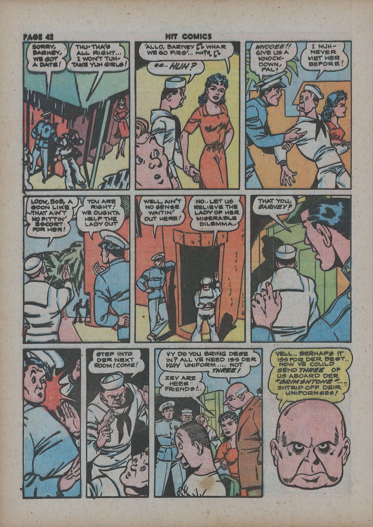 Read online Hit Comics comic -  Issue #27 - 44