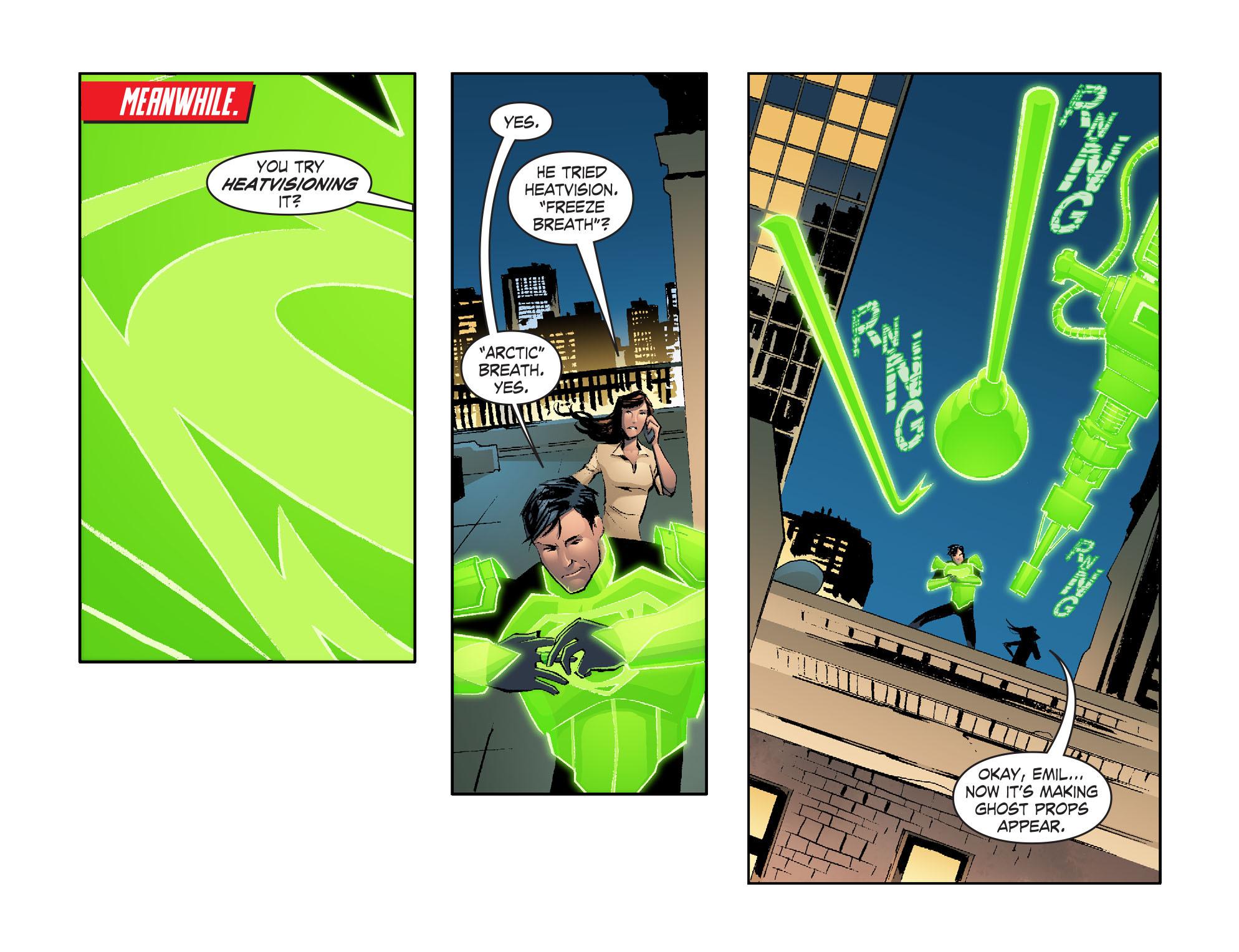 Read online Smallville: Lantern [I] comic -  Issue #2 - 11