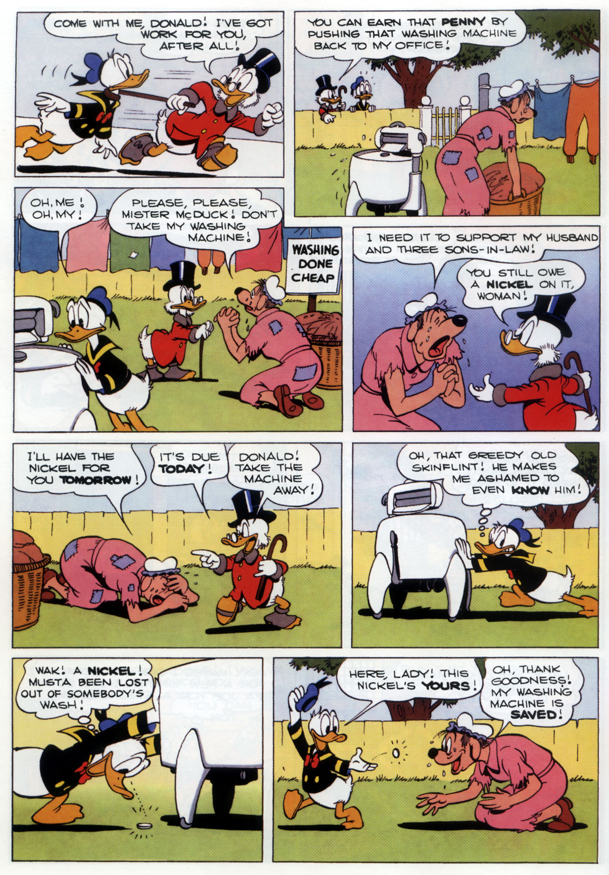 Read online Uncle Scrooge (1953) comic -  Issue #333 - 22