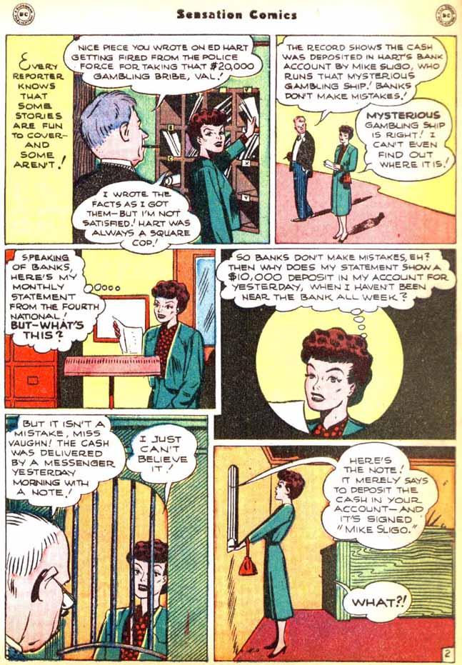 Read online Sensation (Mystery) Comics comic -  Issue #92 - 40