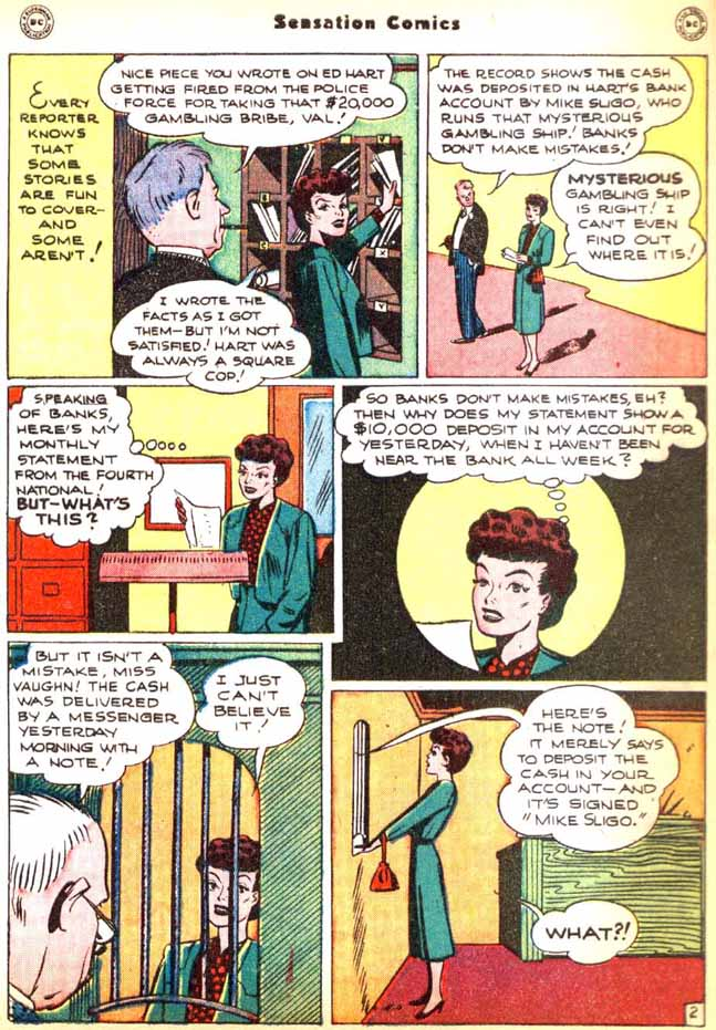 Sensation (Mystery) Comics issue 92 - Page 40