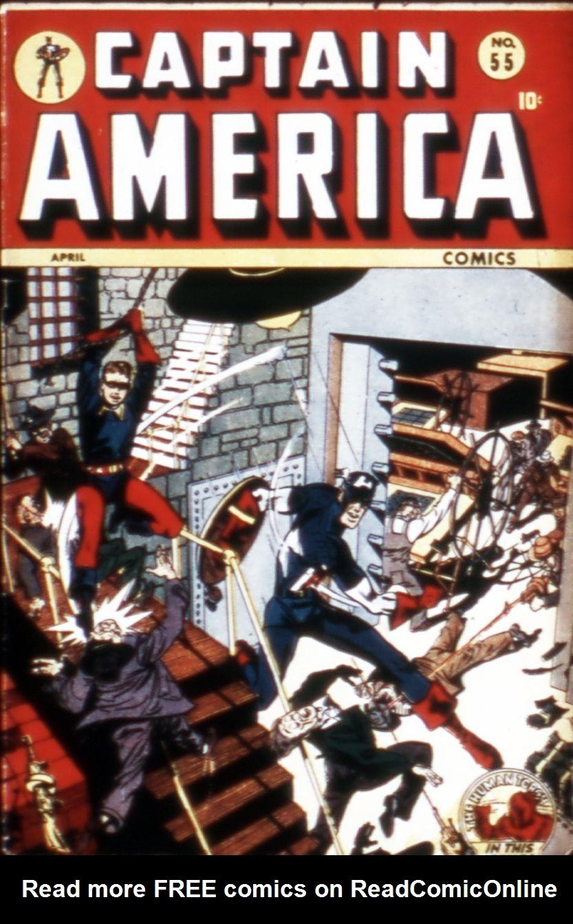 Captain America Comics 55 Page 1