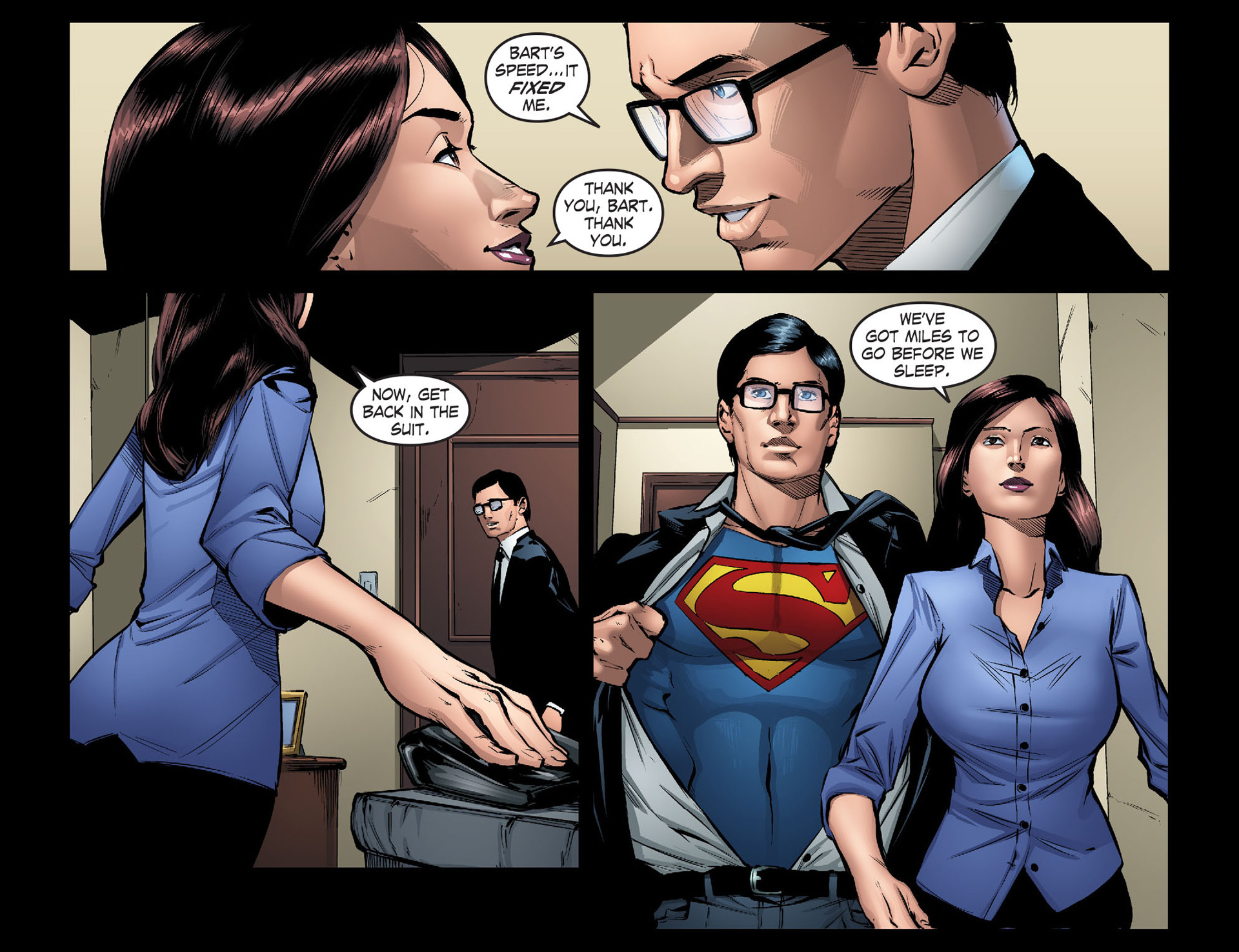 Read online Smallville: Season 11 comic -  Issue #40 - 6