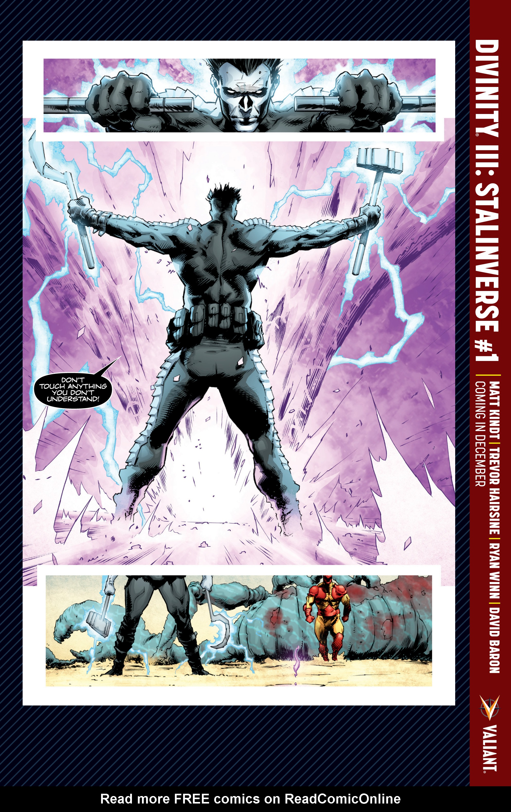 Read online A&A: The Adventures of Archer & Armstrong comic -  Issue #10 - 28