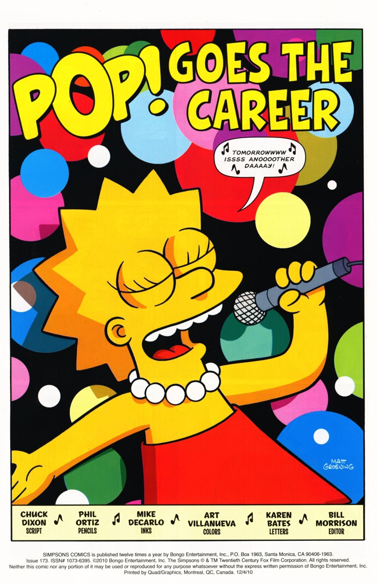 Read online Simpsons Comics comic -  Issue #173 - 2