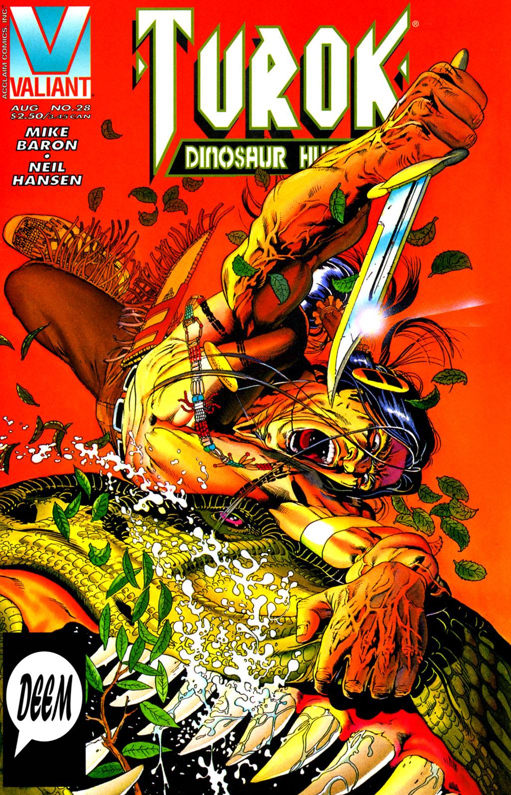 Read online Turok, Dinosaur Hunter (1993) comic -  Issue #28 - 1
