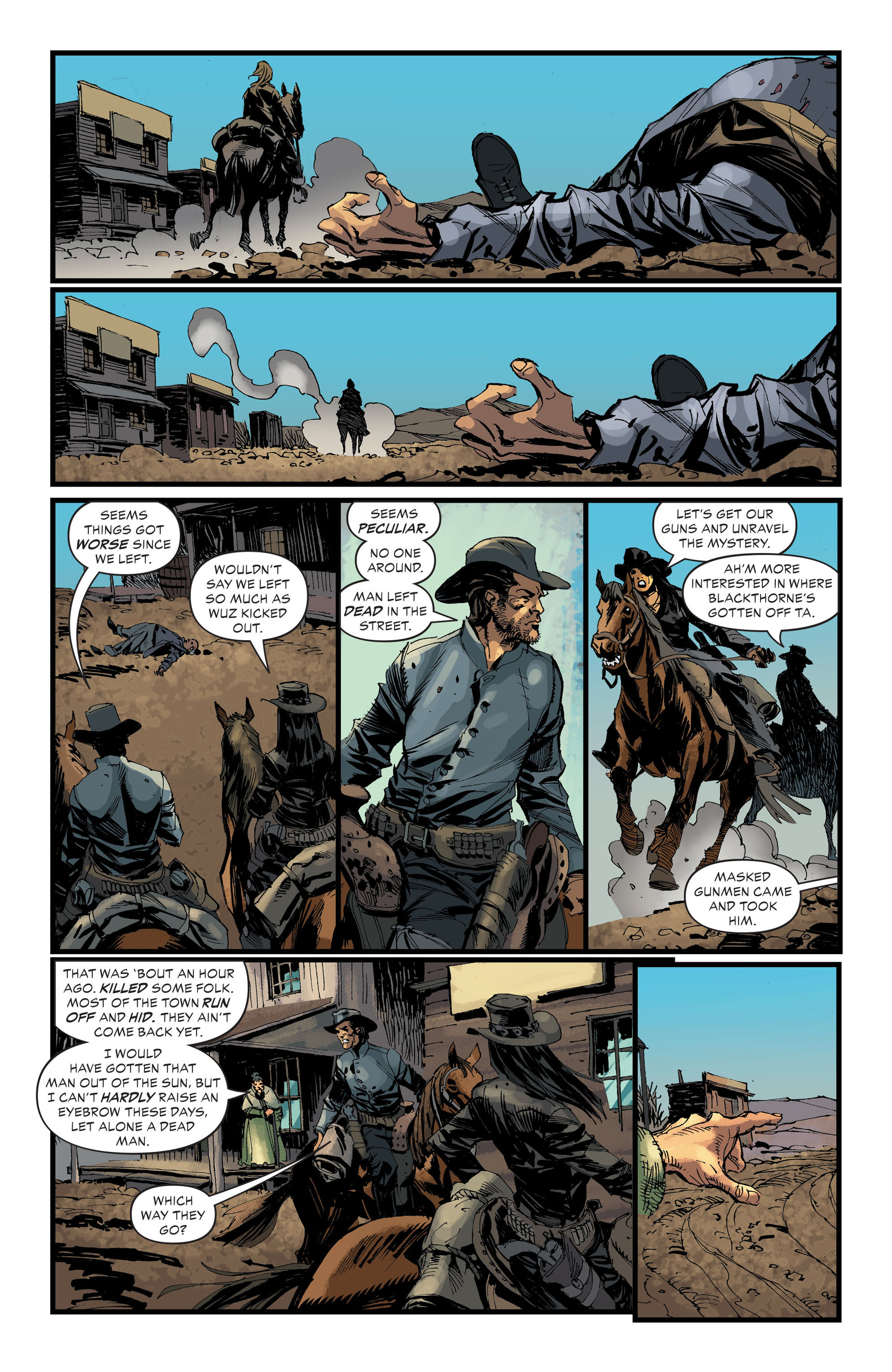 Read online All-Star Western (2011) comic -  Issue #33 - 9