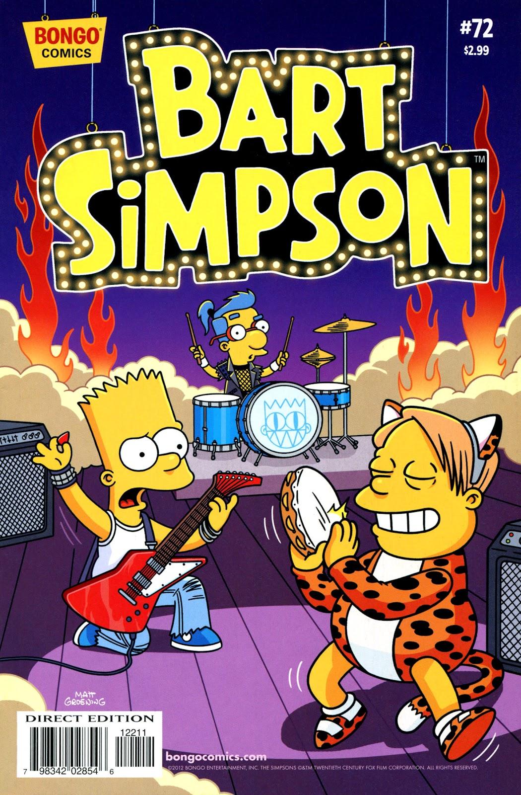Simpsons Comics Presents Bart Simpson 72 Page 1
