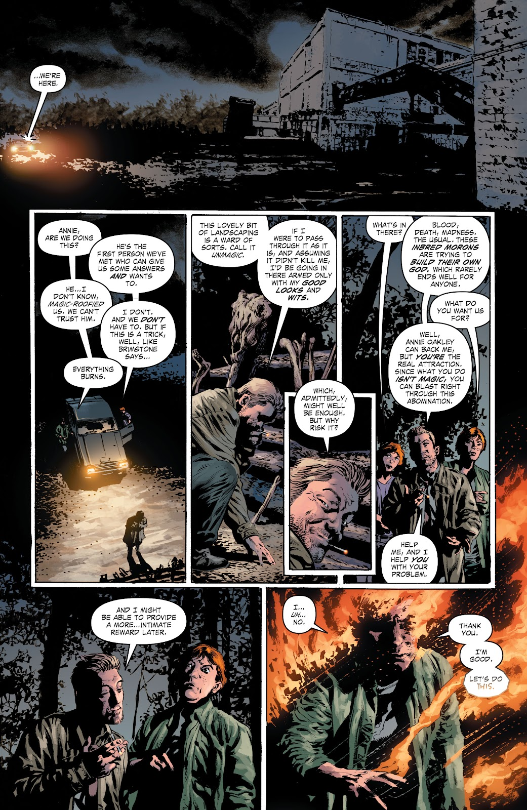 Read online The Curse of Brimstone: Ashes comic -  Issue # TPB (Part 1) - 13