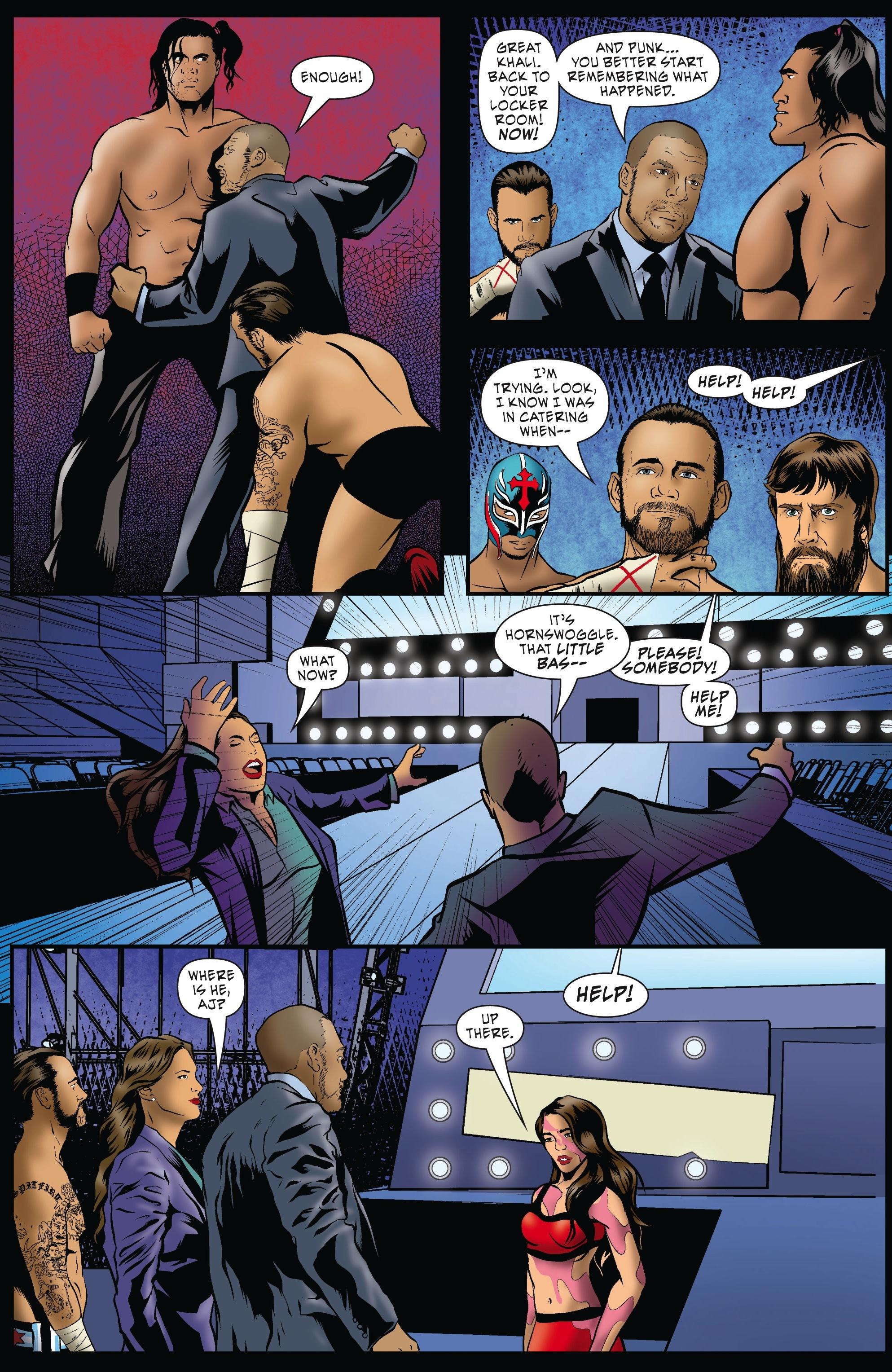 Read online WWE Superstars comic -  Issue #5 - 9