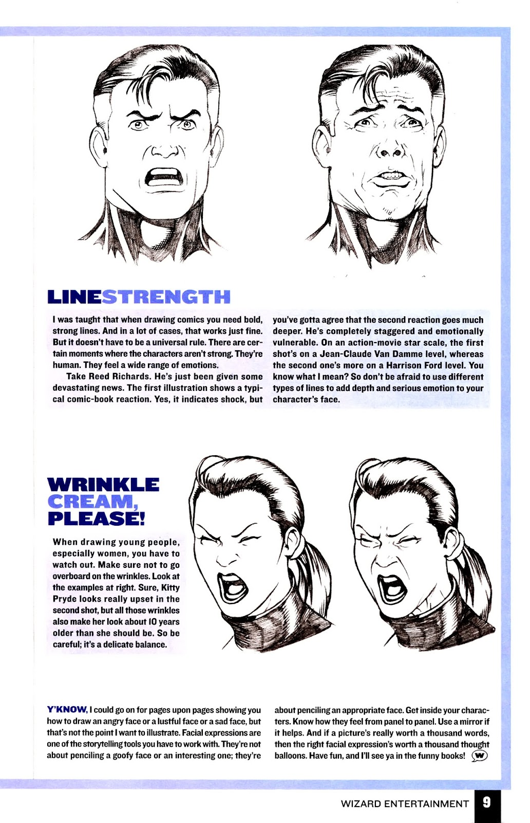 Read online Wizard How to Draw Sampler comic -  Issue # Full - 10