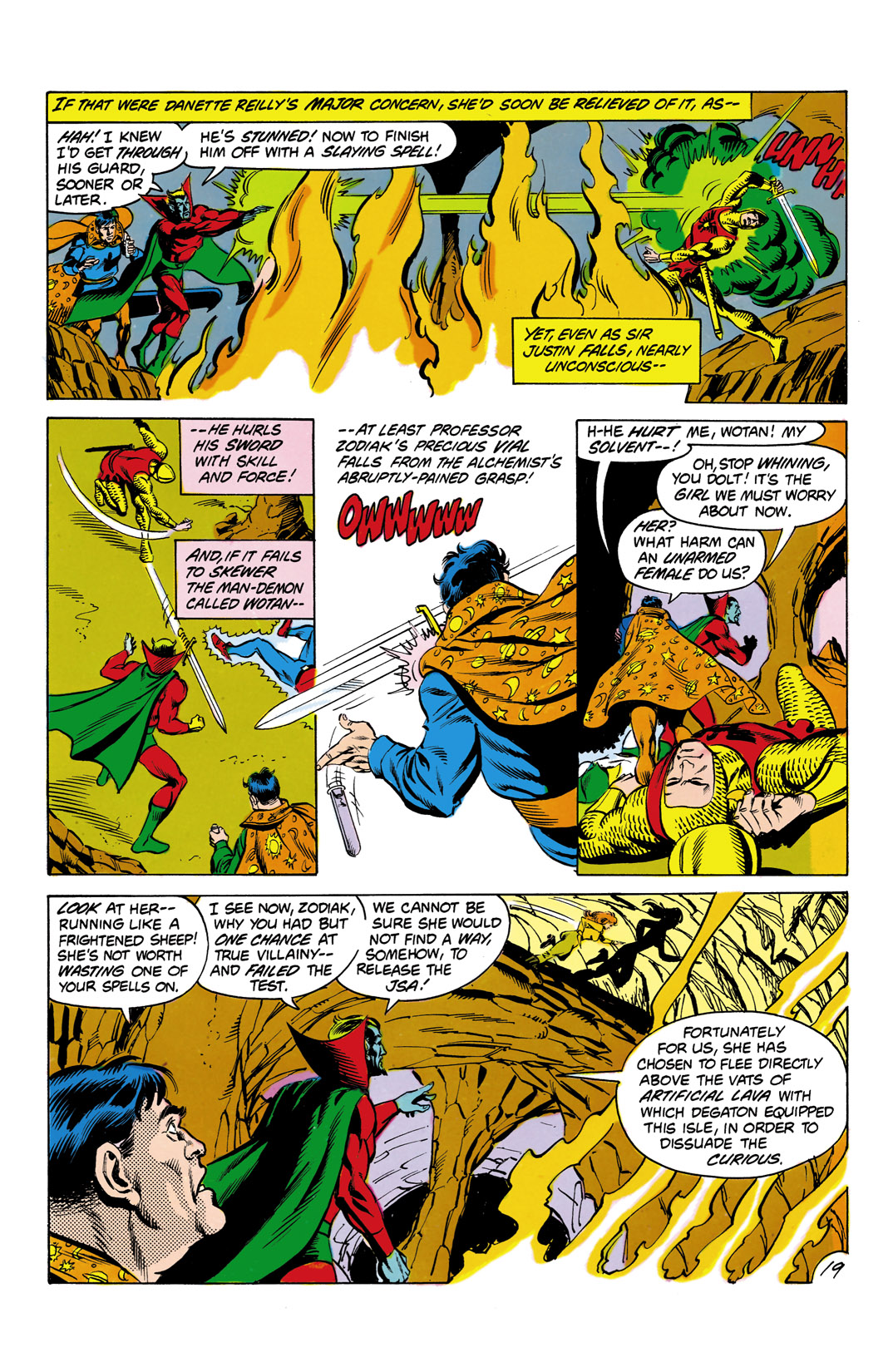 Read online All-Star Squadron comic -  Issue #3 - 20