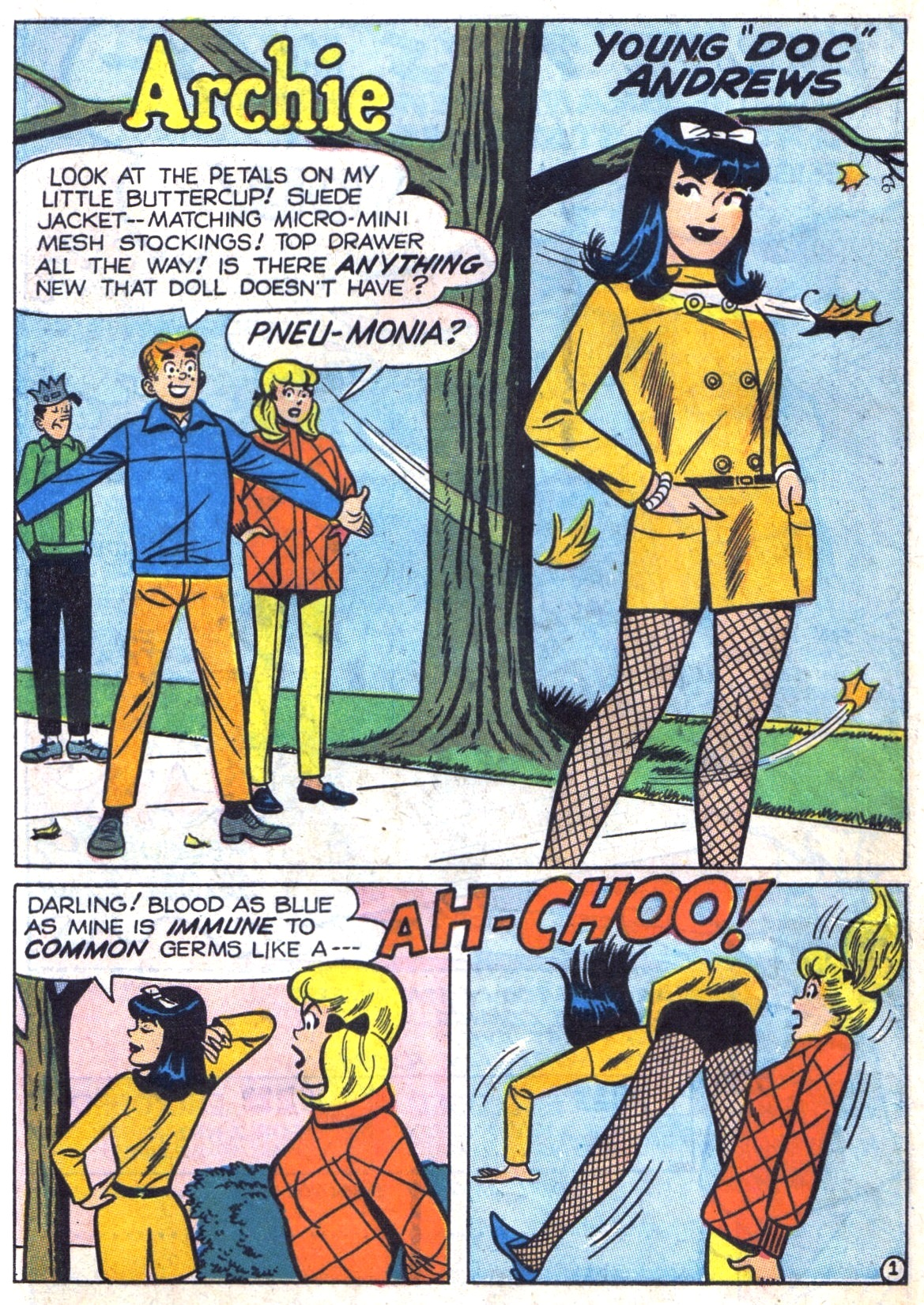 Read online Archie (1960) comic -  Issue #181 - 20