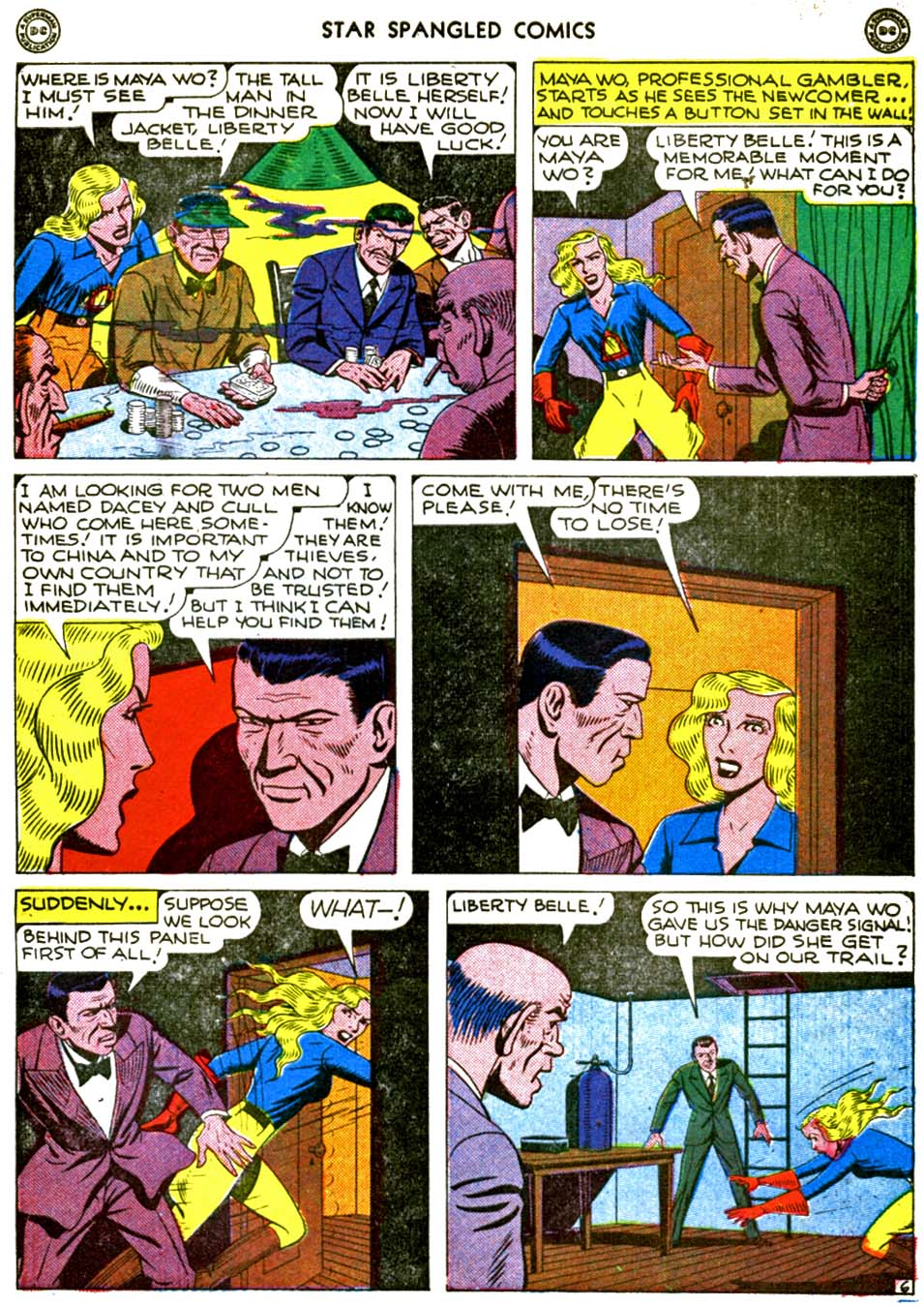 Star Spangled Comics (1941) issue 56 - Page 45