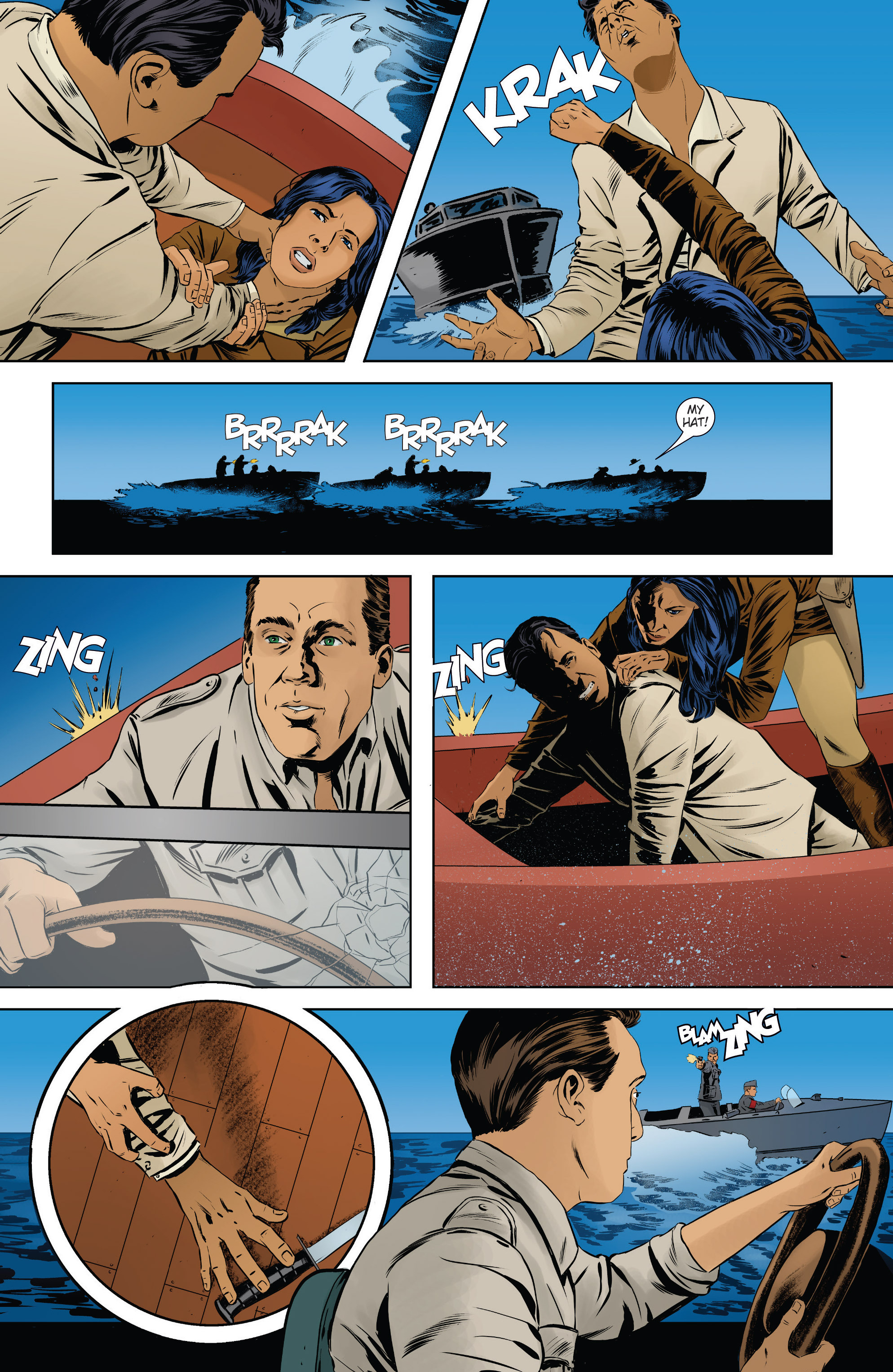 Read online Athena Voltaire and the Volcano Goddess comic -  Issue #2 - 21