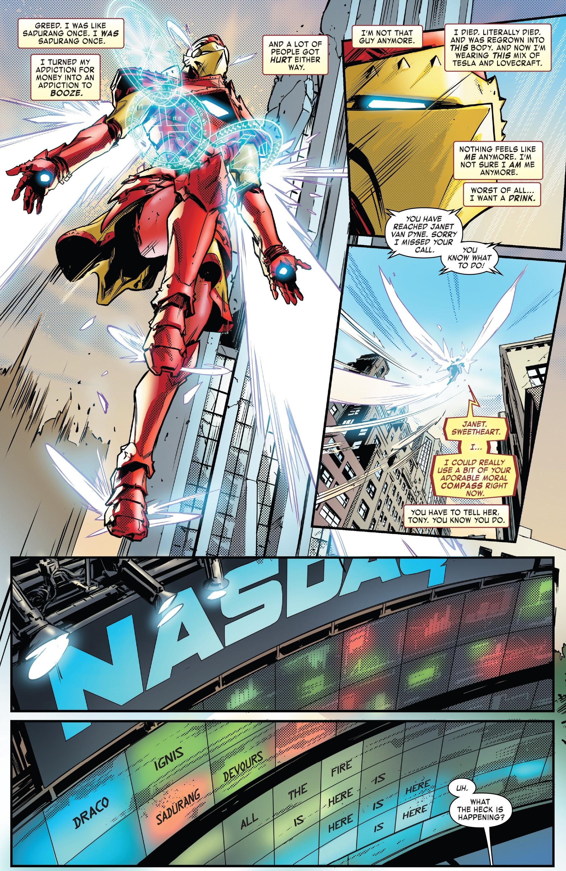 Read online Tony Stark: Iron Man comic -  Issue #13 - 9