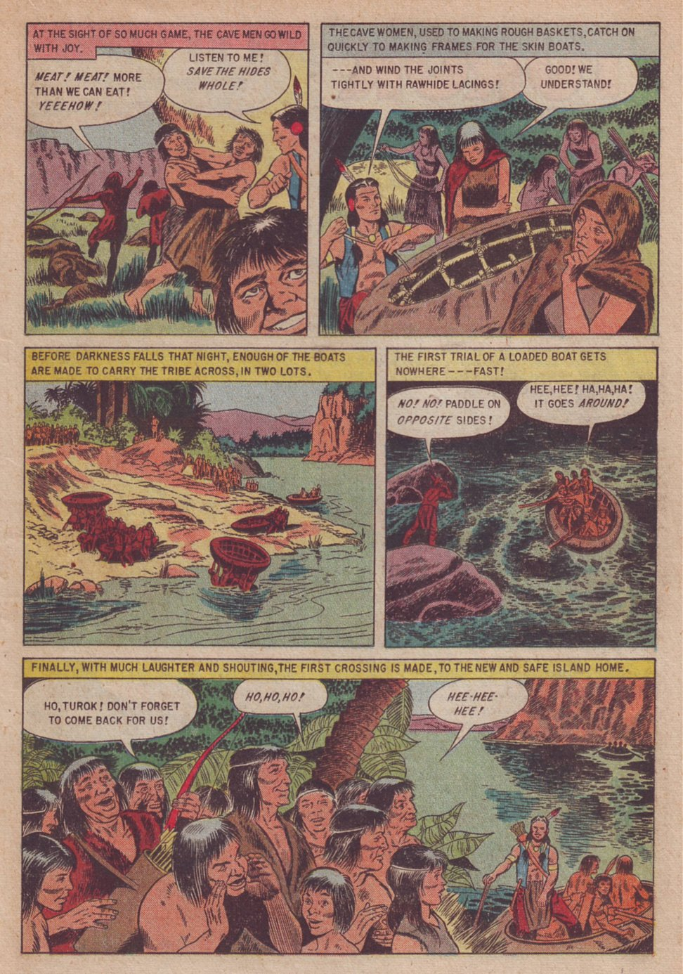 Read online Turok, Son of Stone comic -  Issue #3 - 19