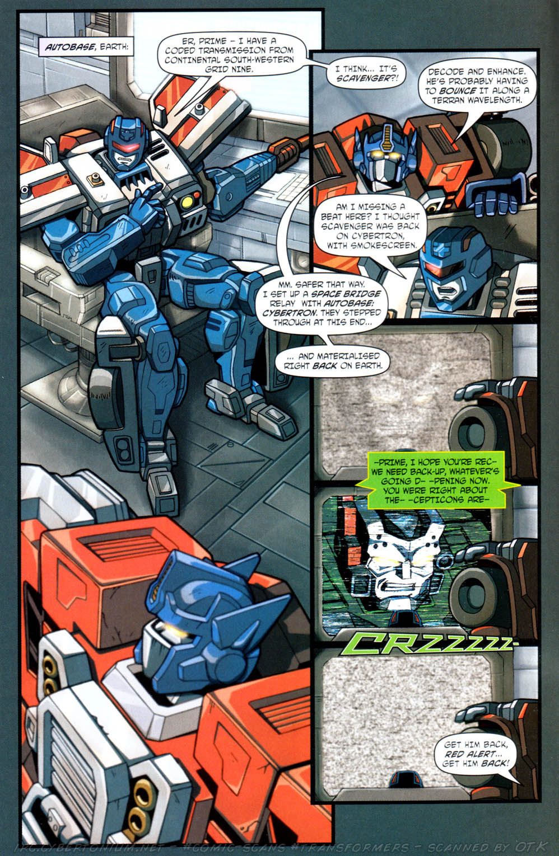 Read online Transformers Armada comic -  Issue #12 - 6
