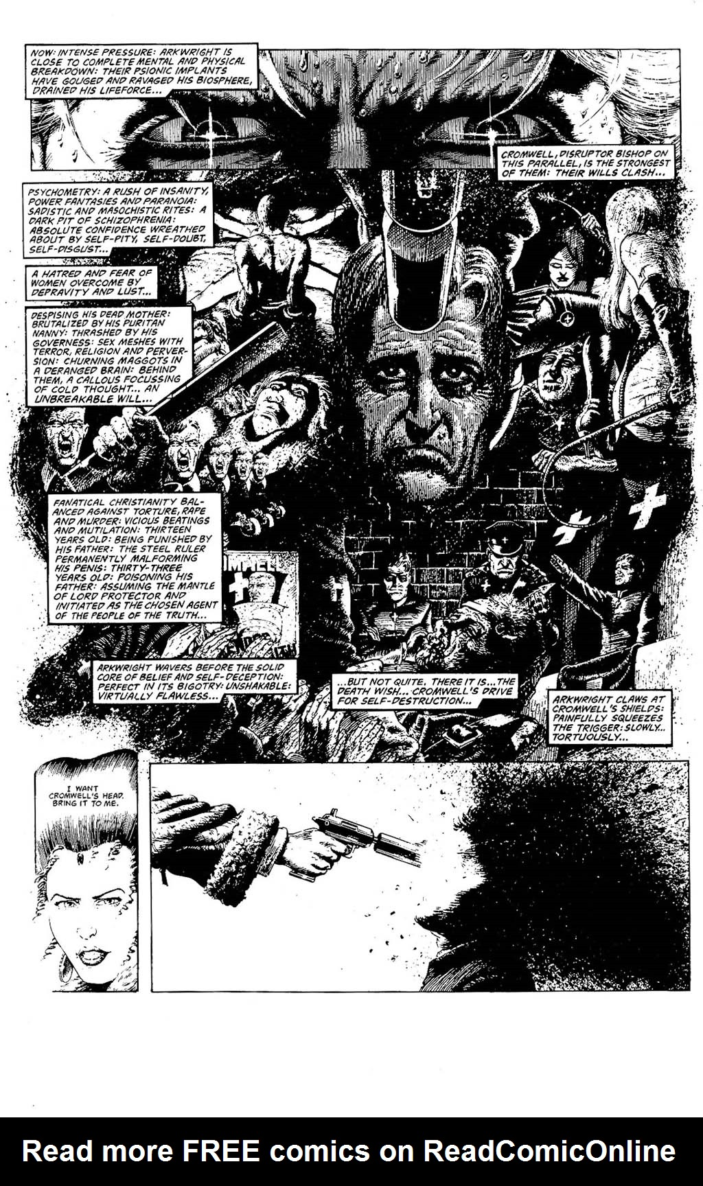 Read online The Adventures of Luther Arkwright comic -  Issue #8 - 11