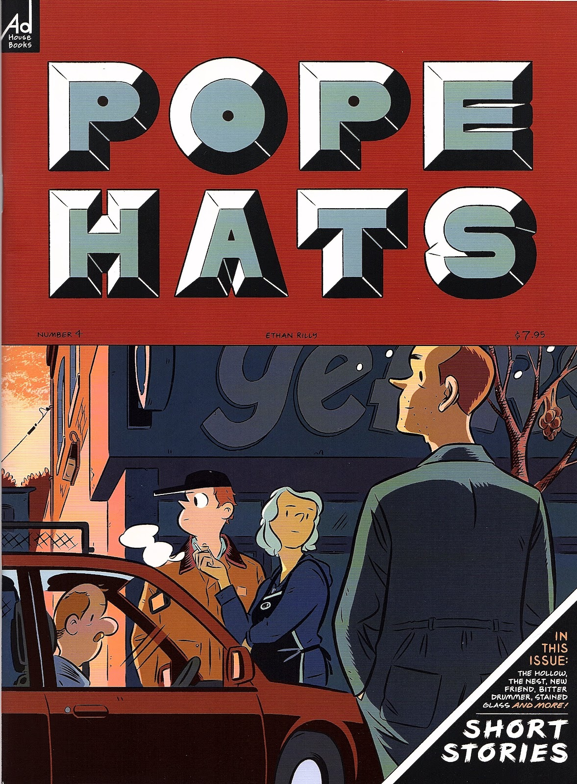 Read online Pope Hats comic -  Issue #4 - 1
