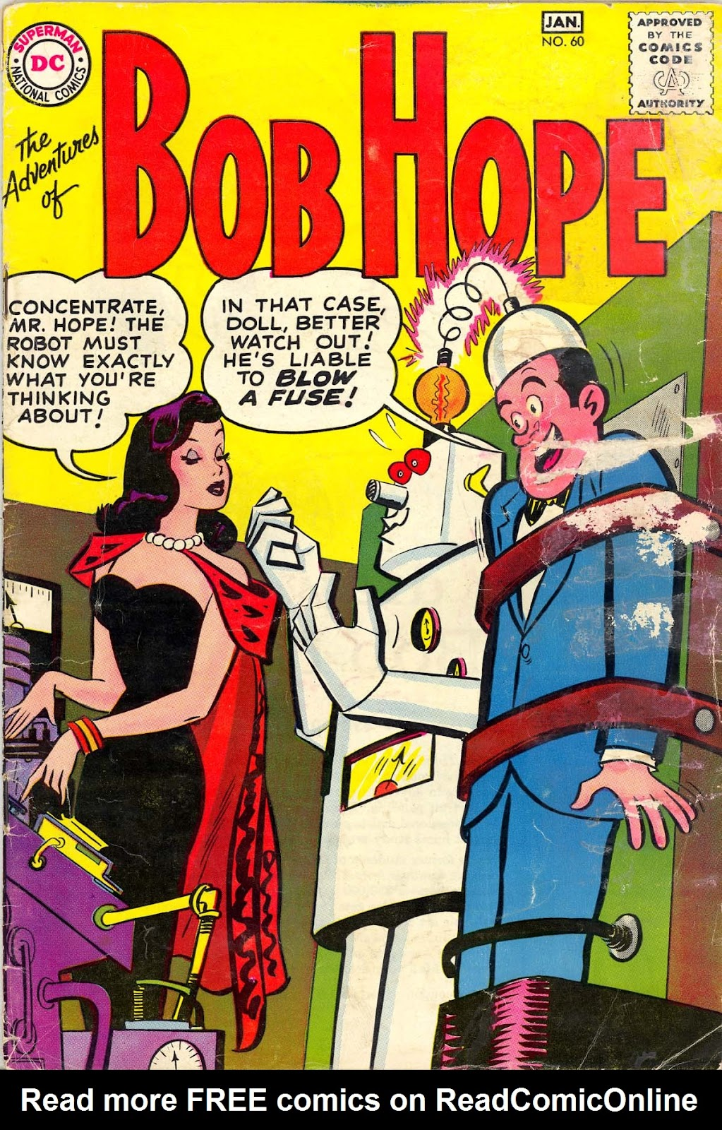 The Adventures of Bob Hope issue 60 - Page 1