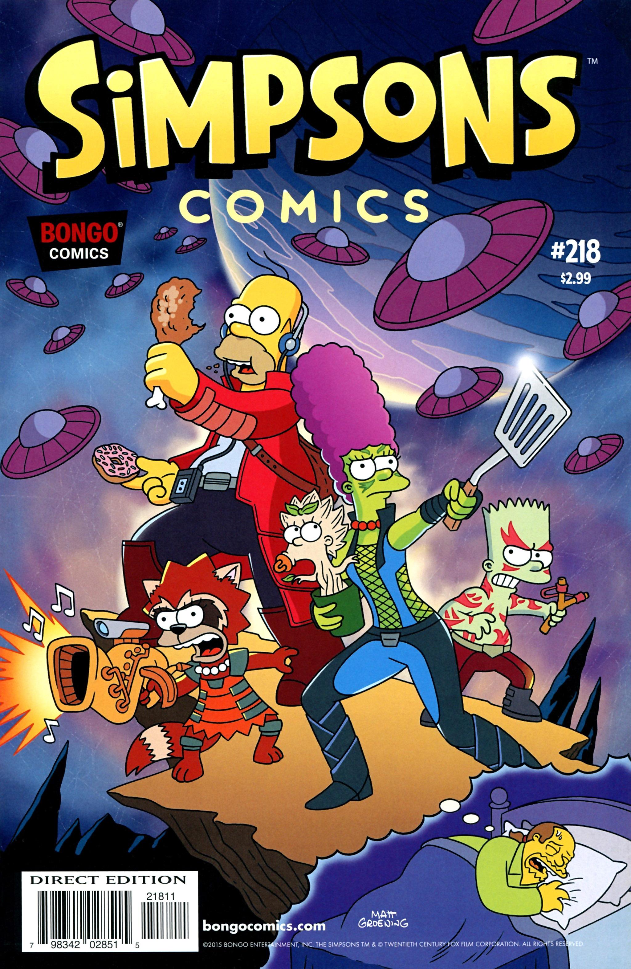 Simpsons Comics 218 Page 1