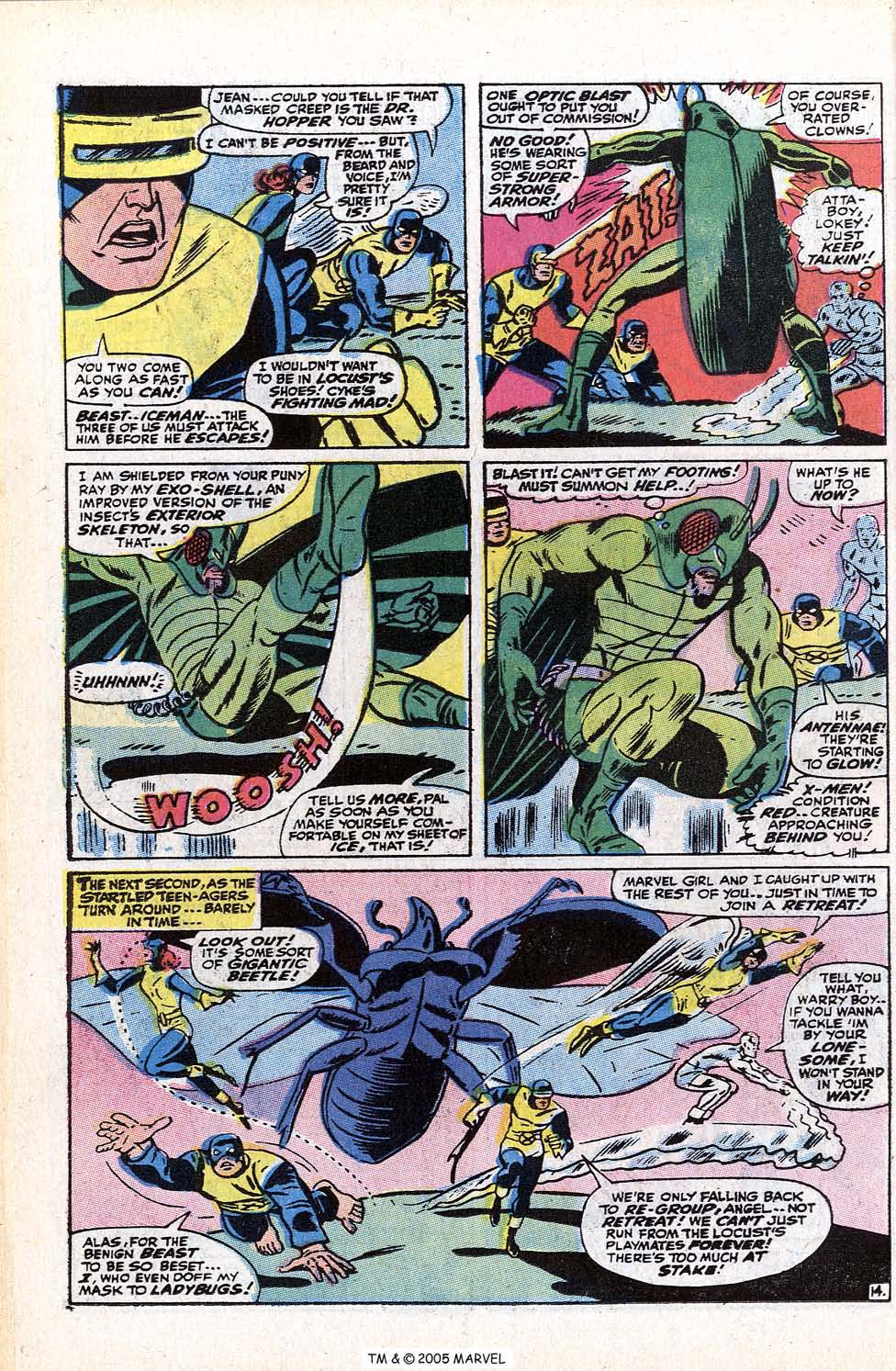 Read online Uncanny X-Men (1963) comic -  Issue #72 - 42