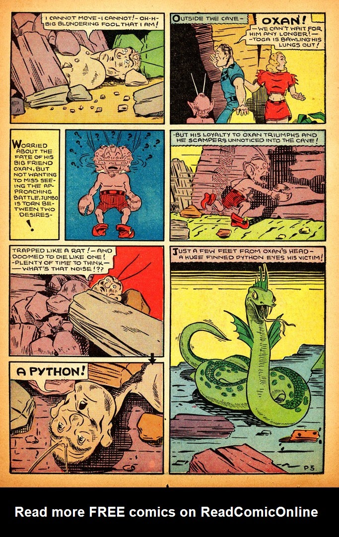 Read online Amazing Man Comics comic -  Issue #12 - 45
