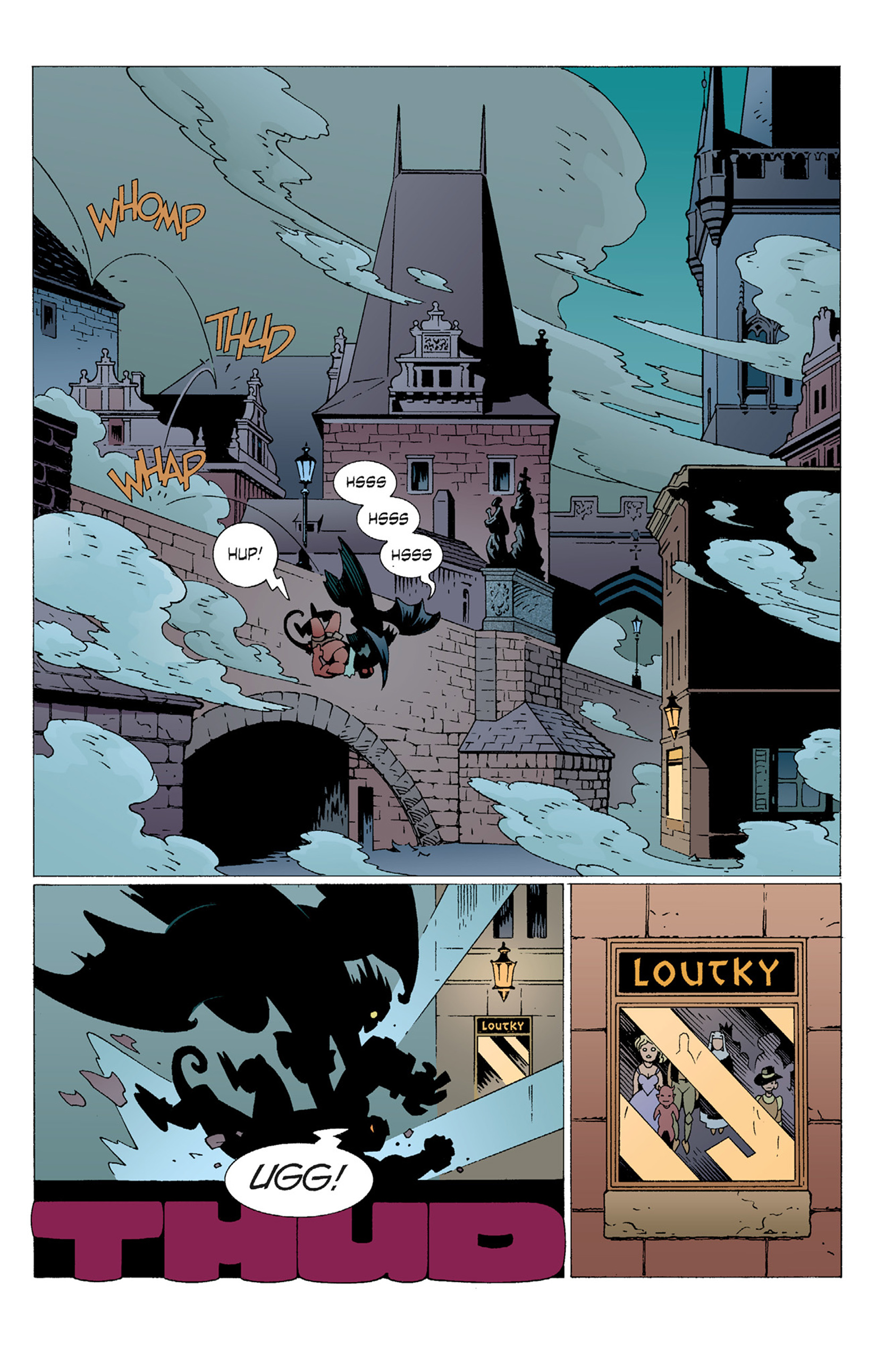 Read online Hellboy: The Troll Witch and Others comic -  Issue # TPB - 47