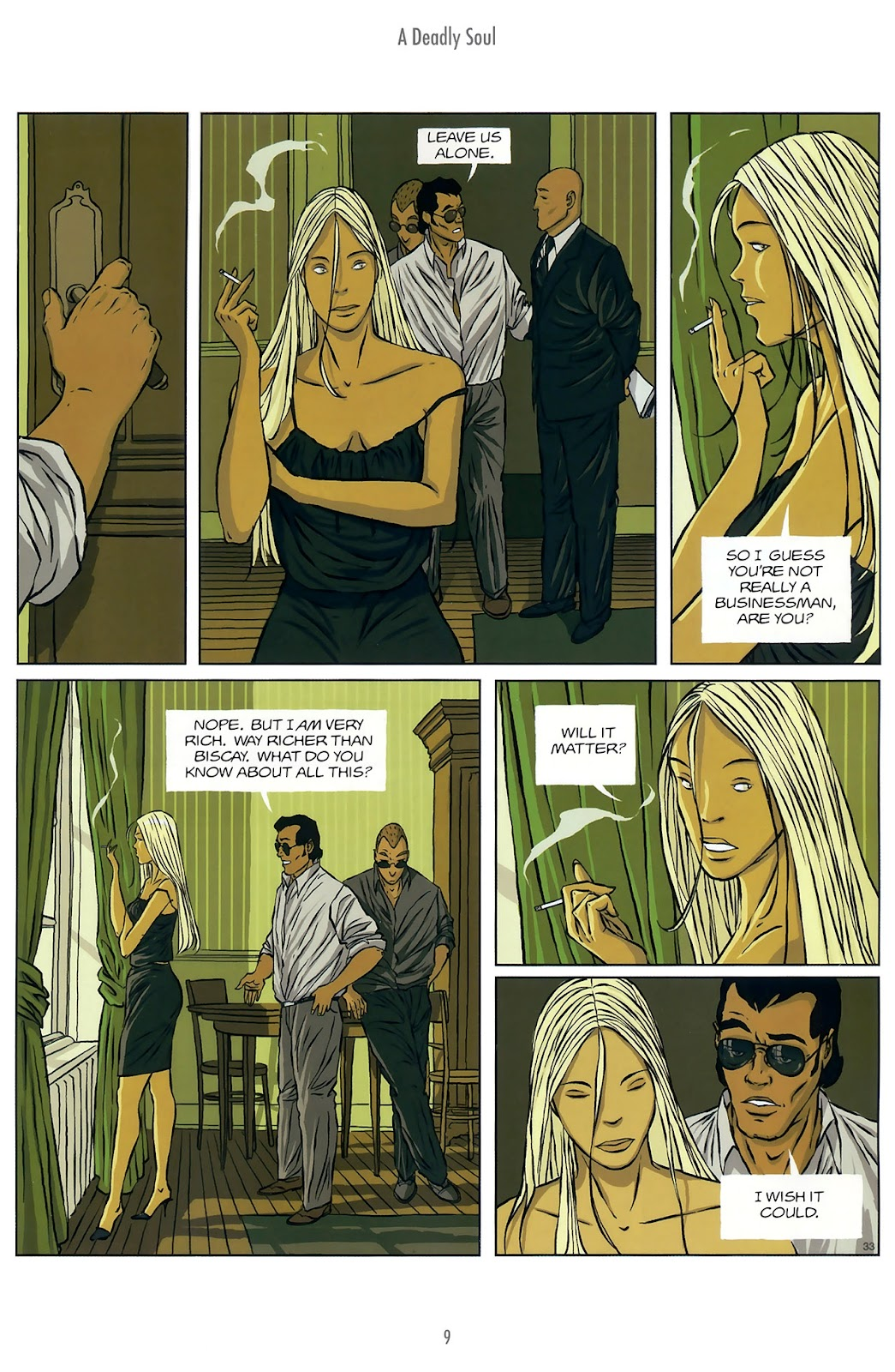 Read online The Killer comic -  Issue #10 - 9