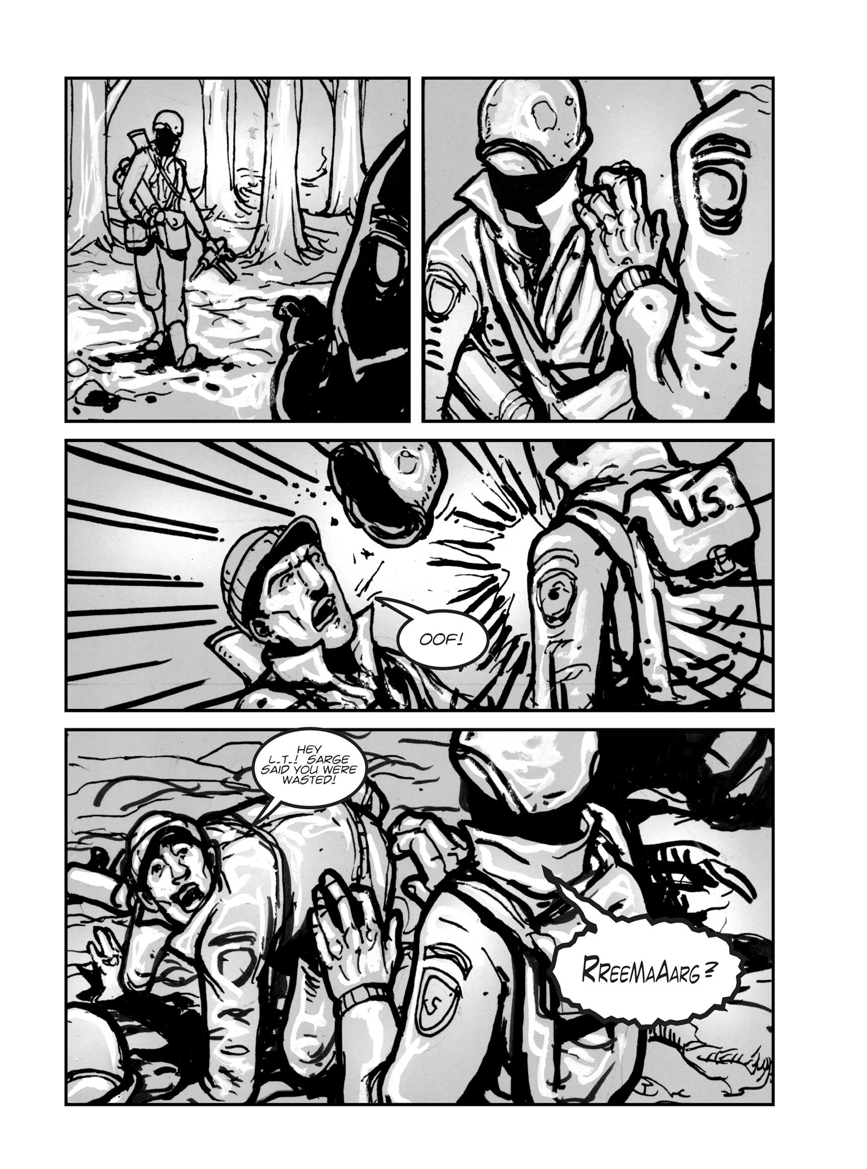 Read online FUBAR comic -  Issue #1 - 37