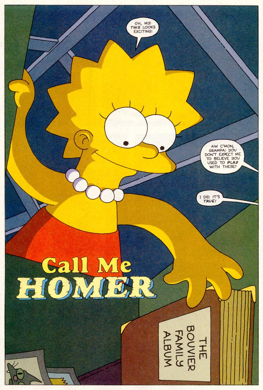Read online Treehouse of Horror comic -  Issue #1 - 19