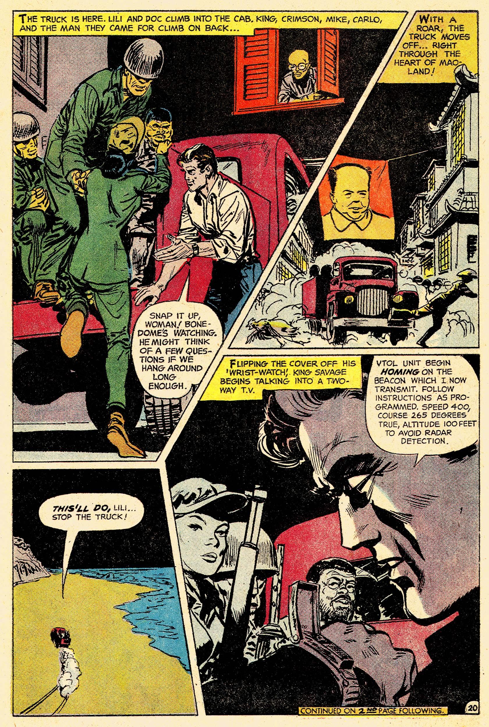 Read online Secret Six (1968) comic -  Issue #4 - 26