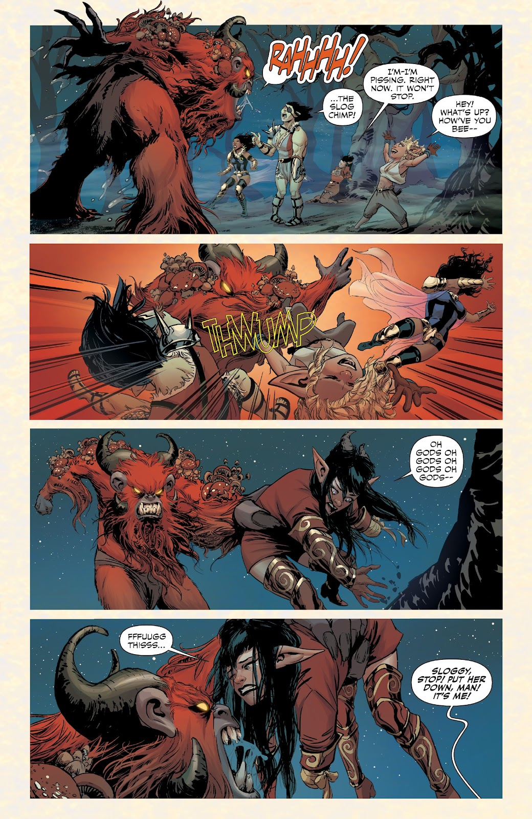 Read online Rat Queens Special: Swamp Romp comic -  Issue # Full - 14