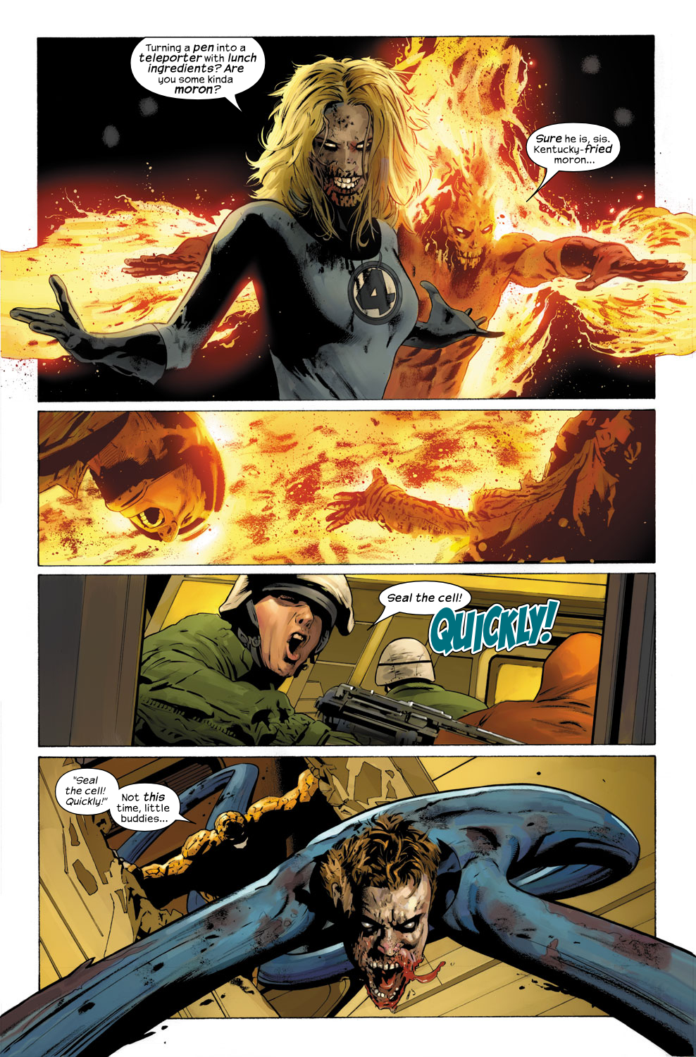 Read online Ultimate Fantastic Four (2004) comic -  Issue #31 - 8