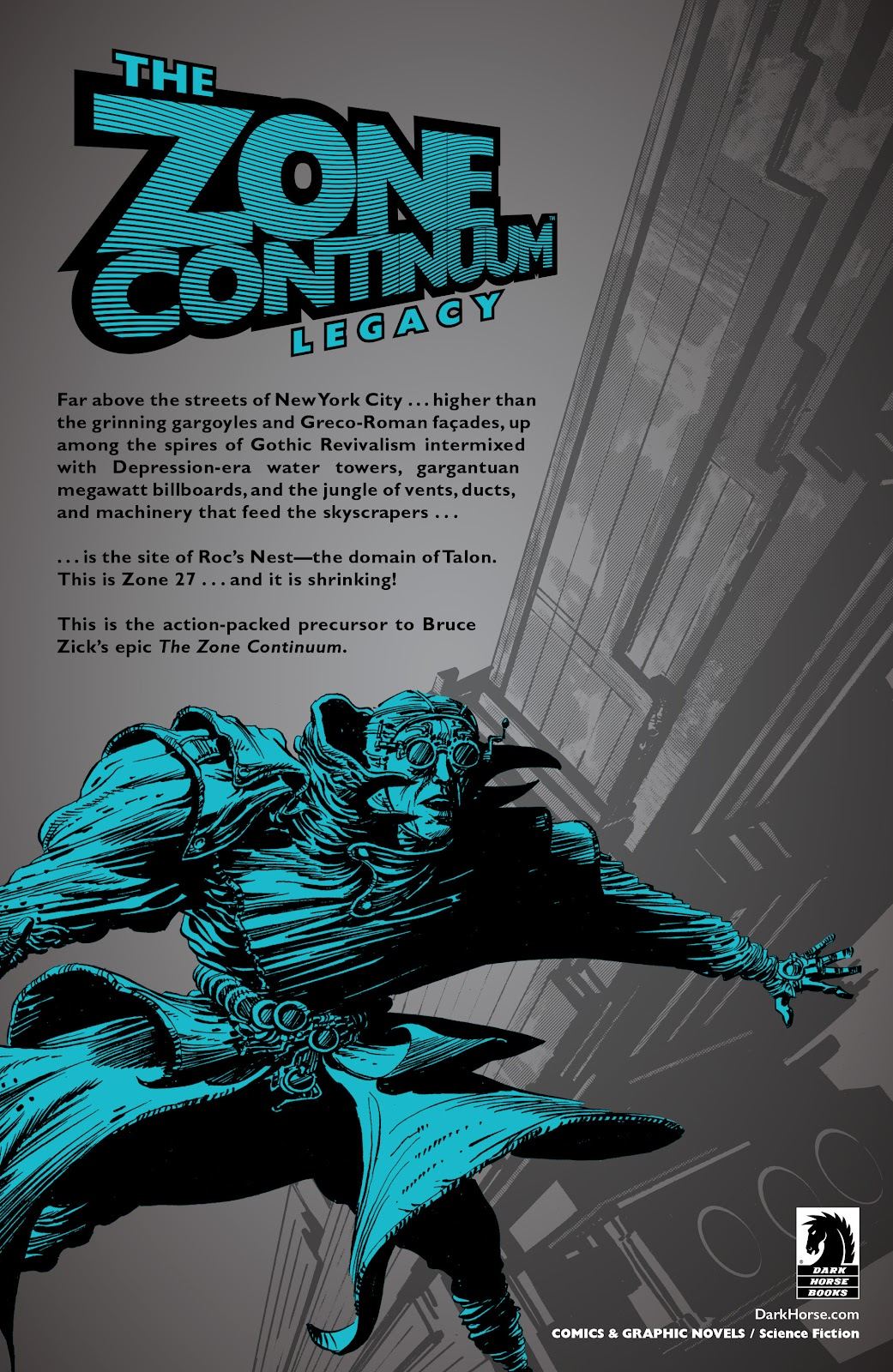 Read online The Zone Continuum: Legacy comic -  Issue # TPB - 116