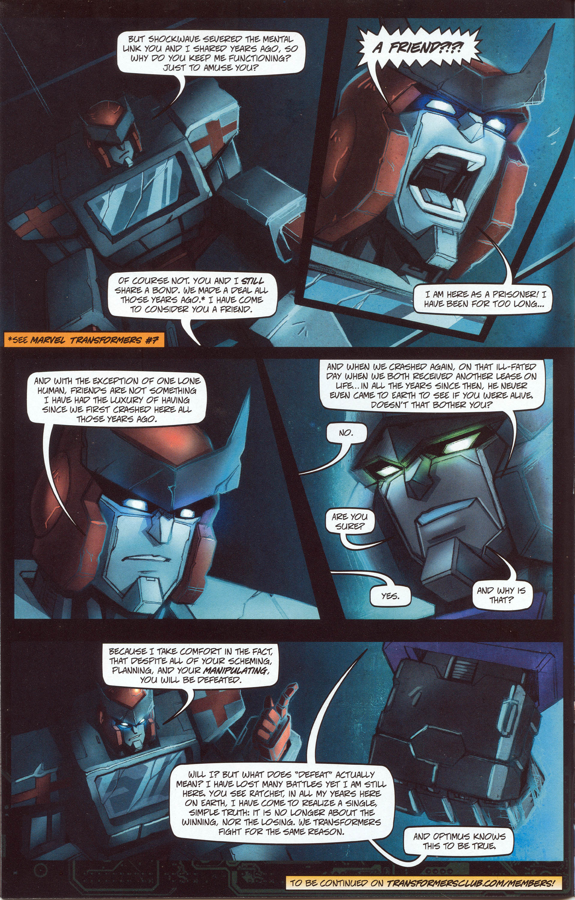 Read online Transformers: Collectors' Club comic -  Issue #30 - 6