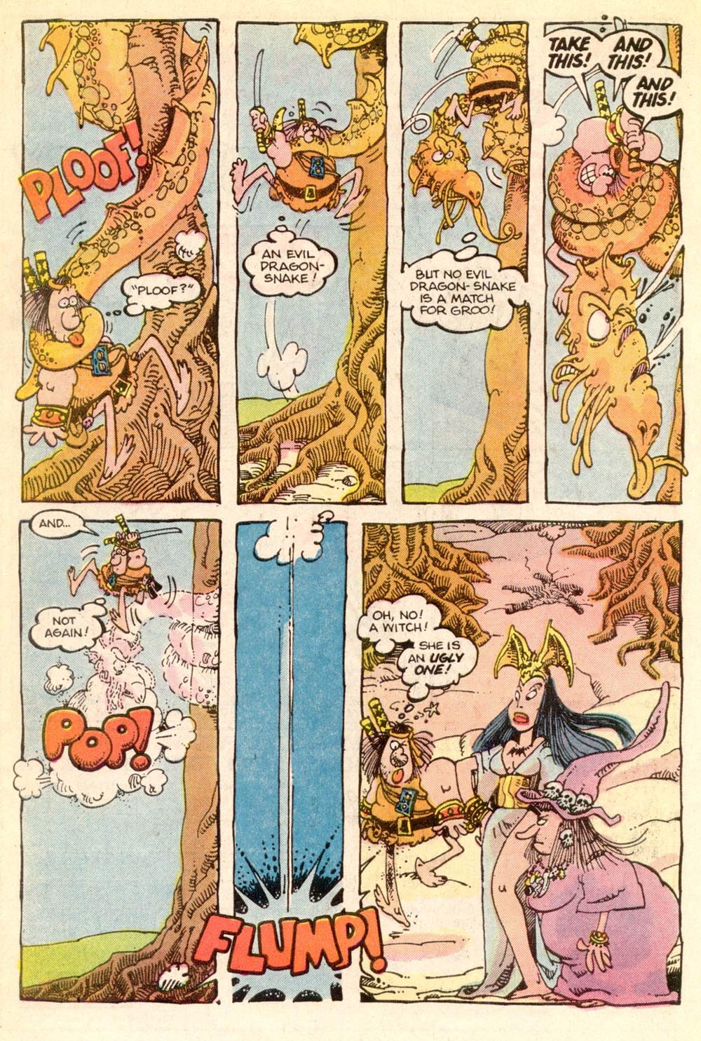 Read online Sergio Aragonés Groo the Wanderer comic -  Issue #21 - 6