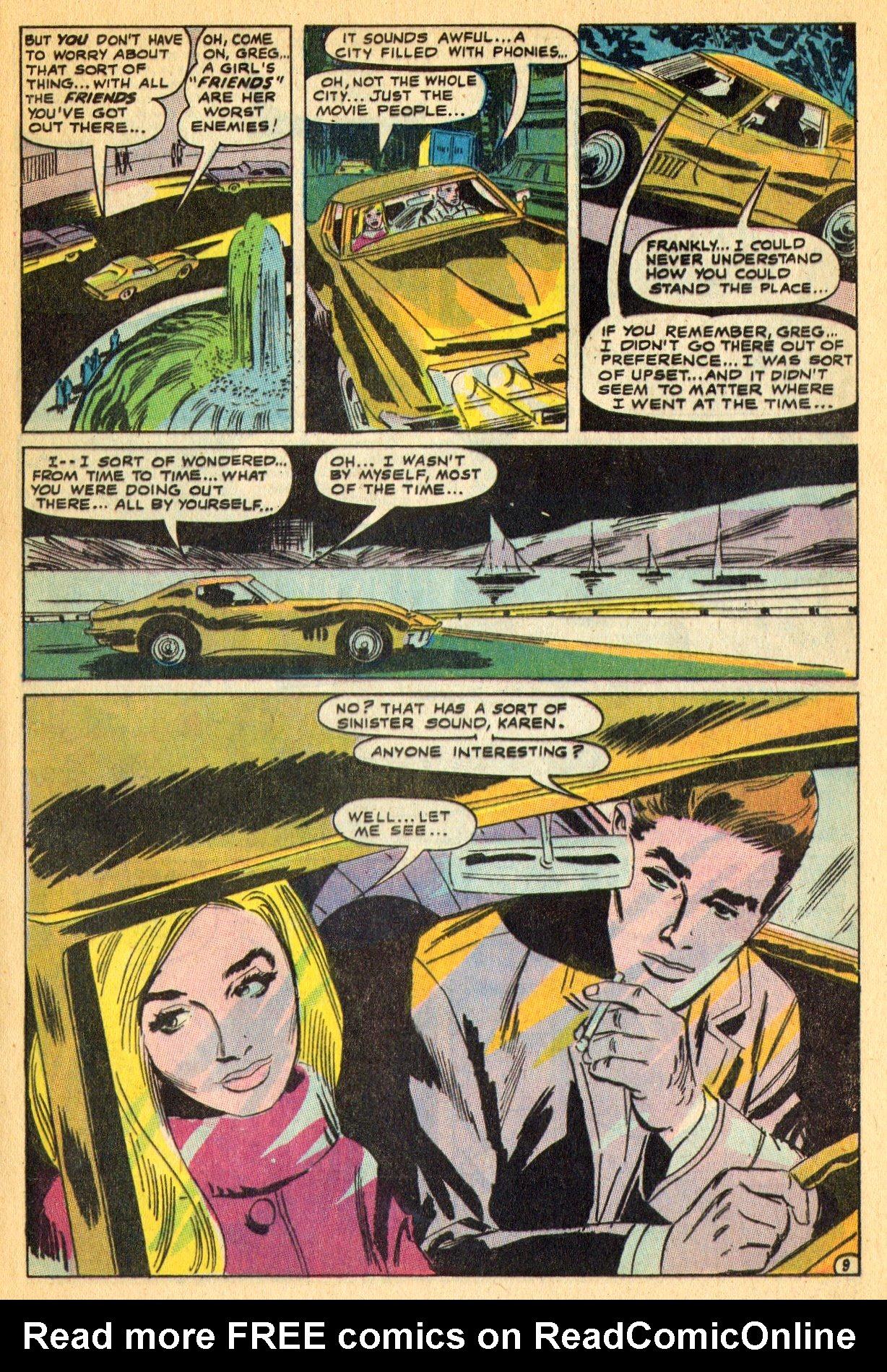 Read online Secret Hearts comic -  Issue #134 - 29