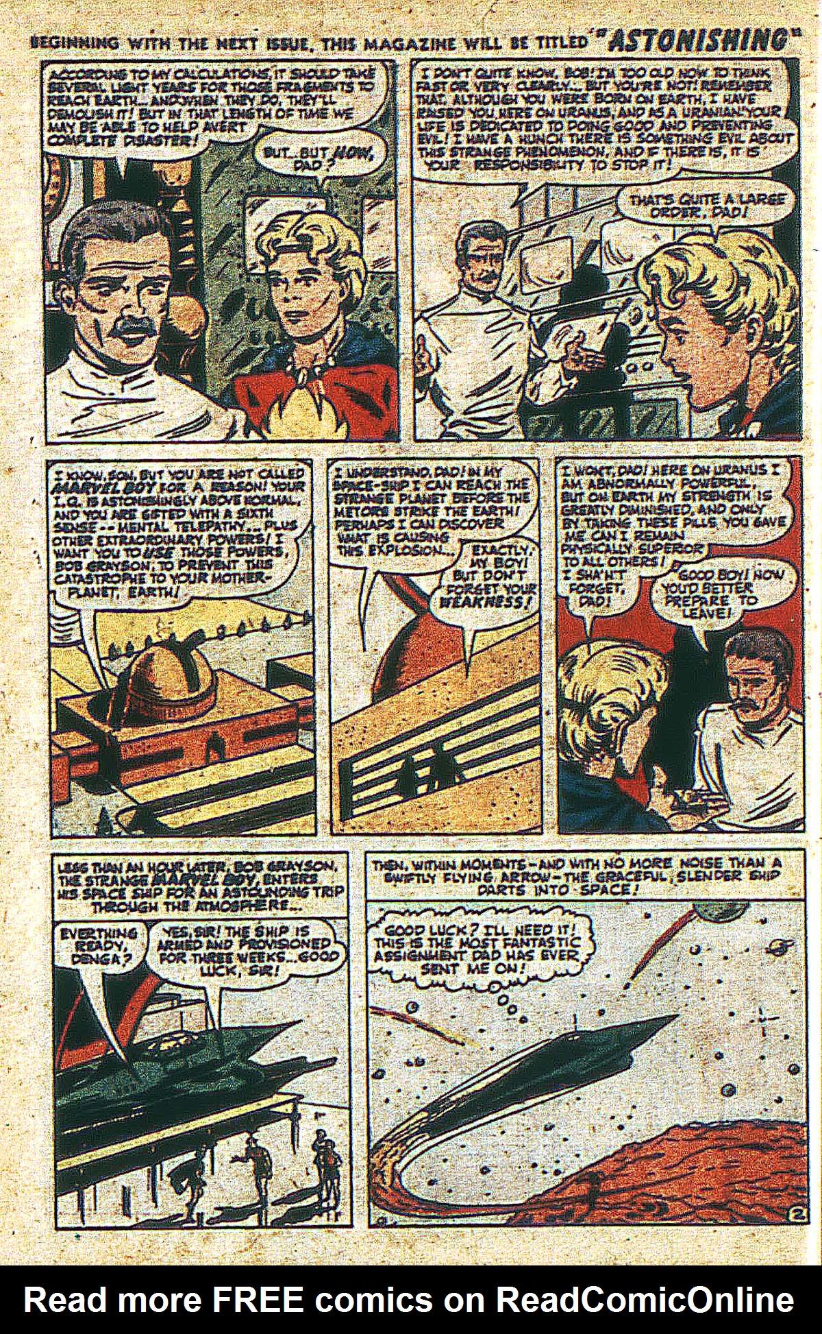 Read online Marvel Boy (1950) comic -  Issue #2 - 5