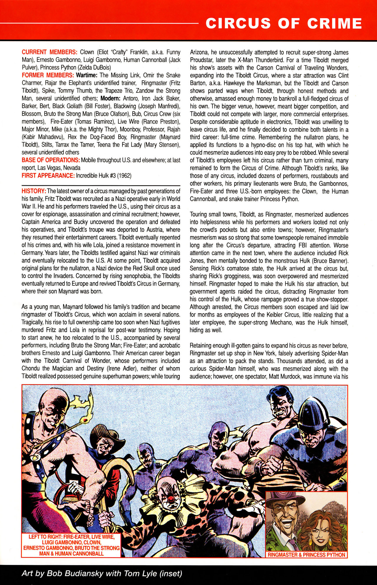 Read online All-New Official Handbook of the Marvel Universe A to Z: Update comic -  Issue #1 - 8