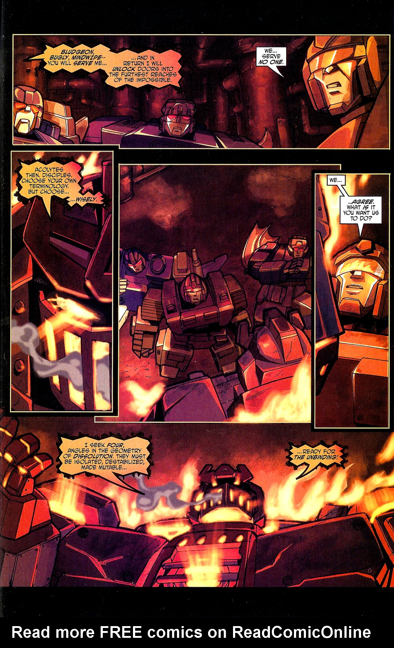 "Read online Transformers War Within: ""The Dark Ages"" comic -  Issue #1 - 16"