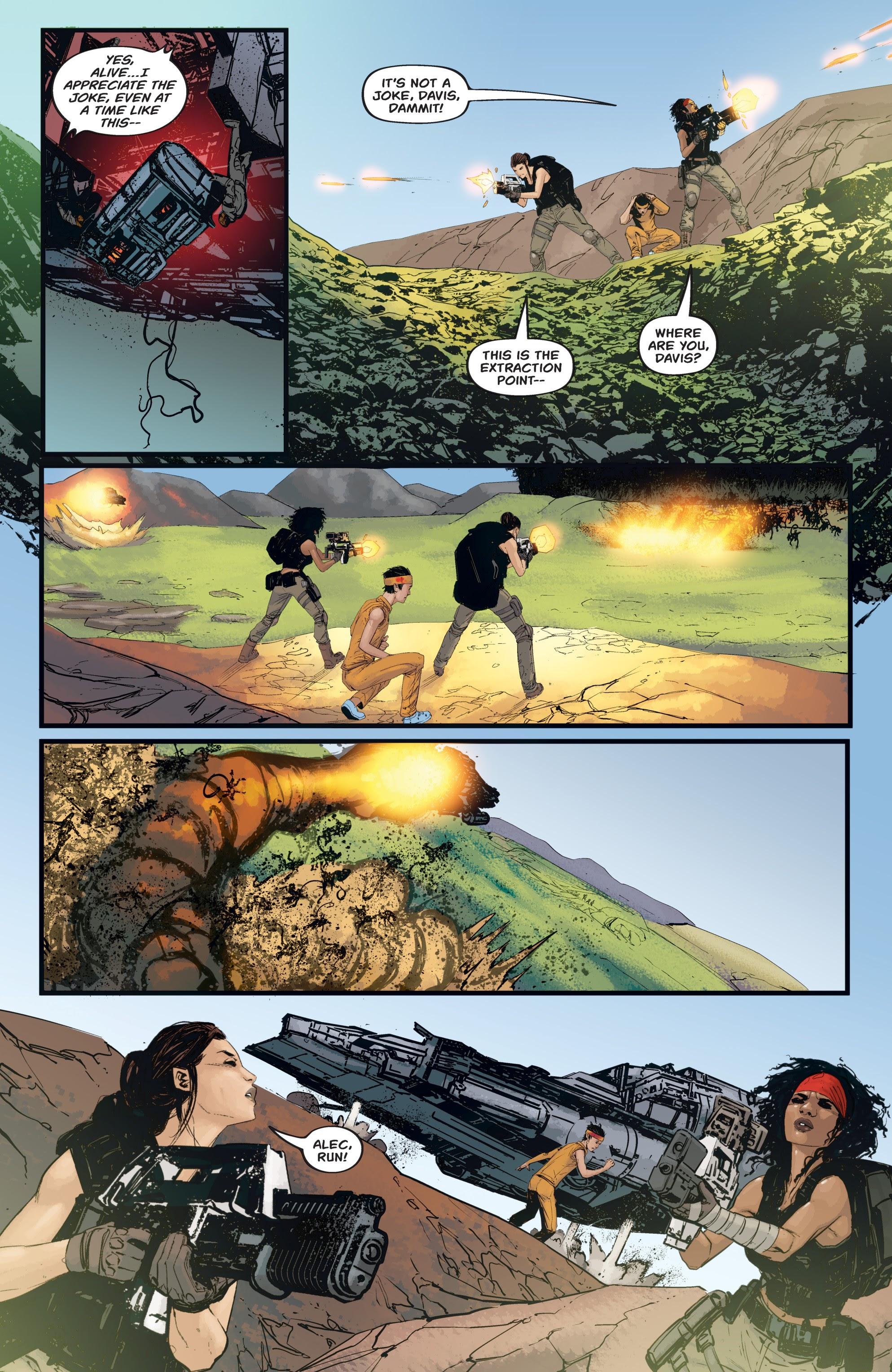 Read online Aliens: Resistance comic -  Issue # _TPB - 86