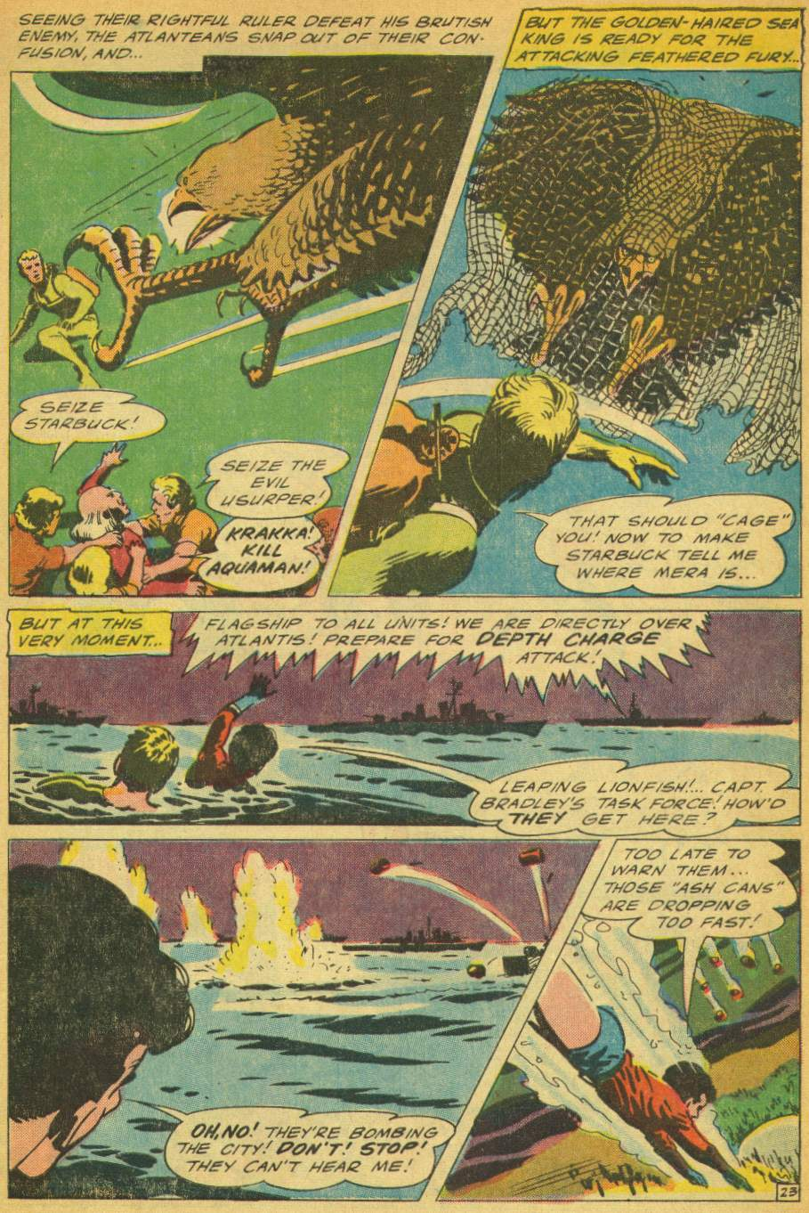 Read online Aquaman (1962) comic -  Issue #28 - 31